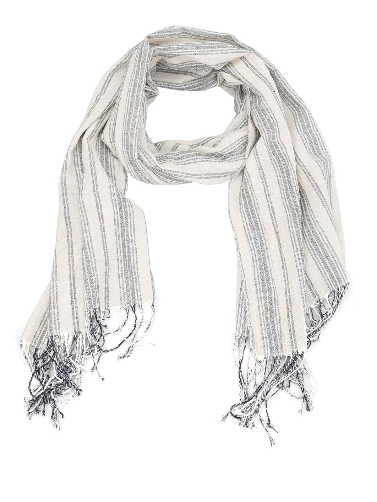 5c411e1ae8 Dondup - Sciarpa in tela di cotone - sciarpe e foulard - UK067 Y331X 102
