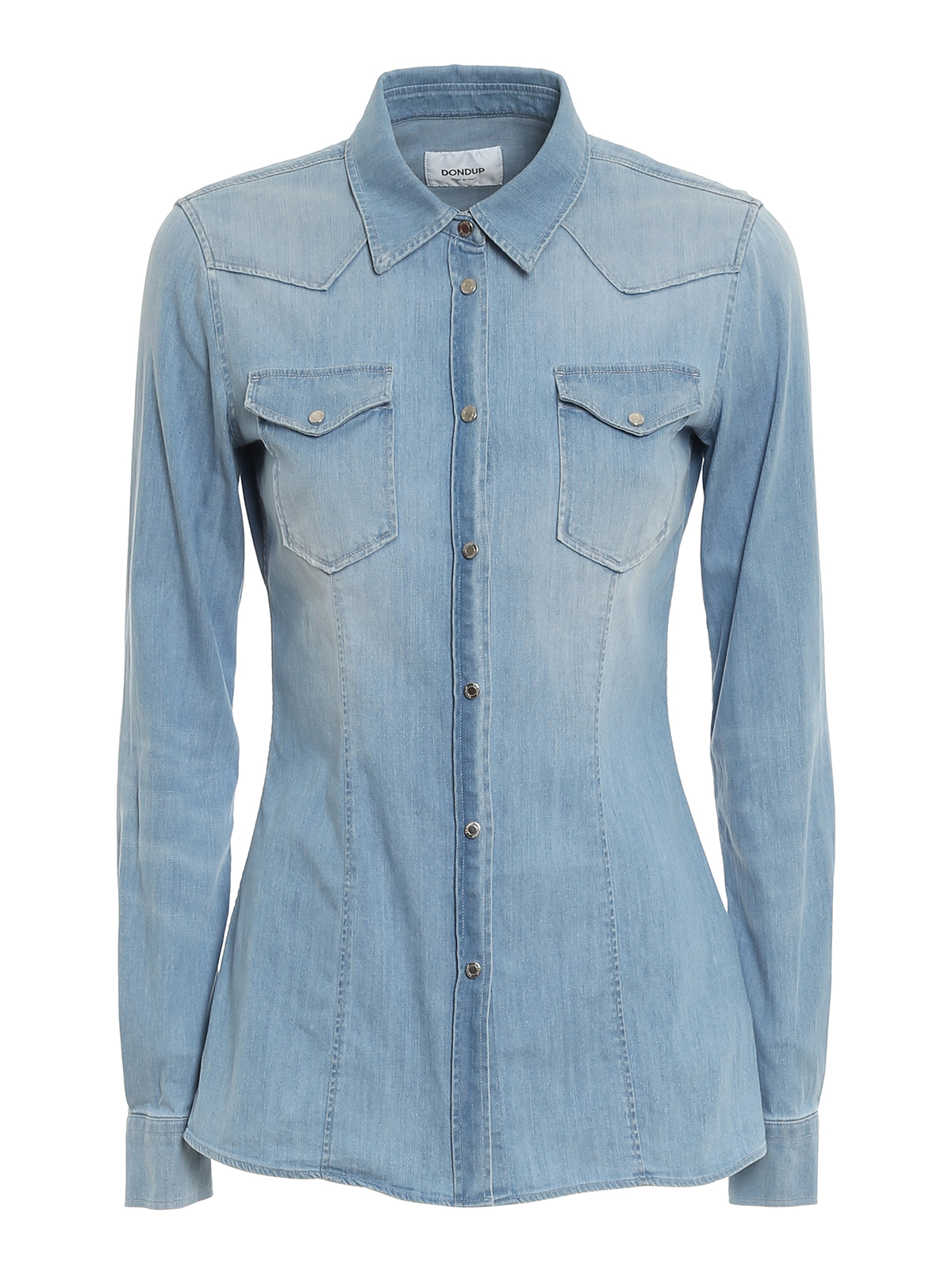 Dondup FADED DENIM SHIRT
