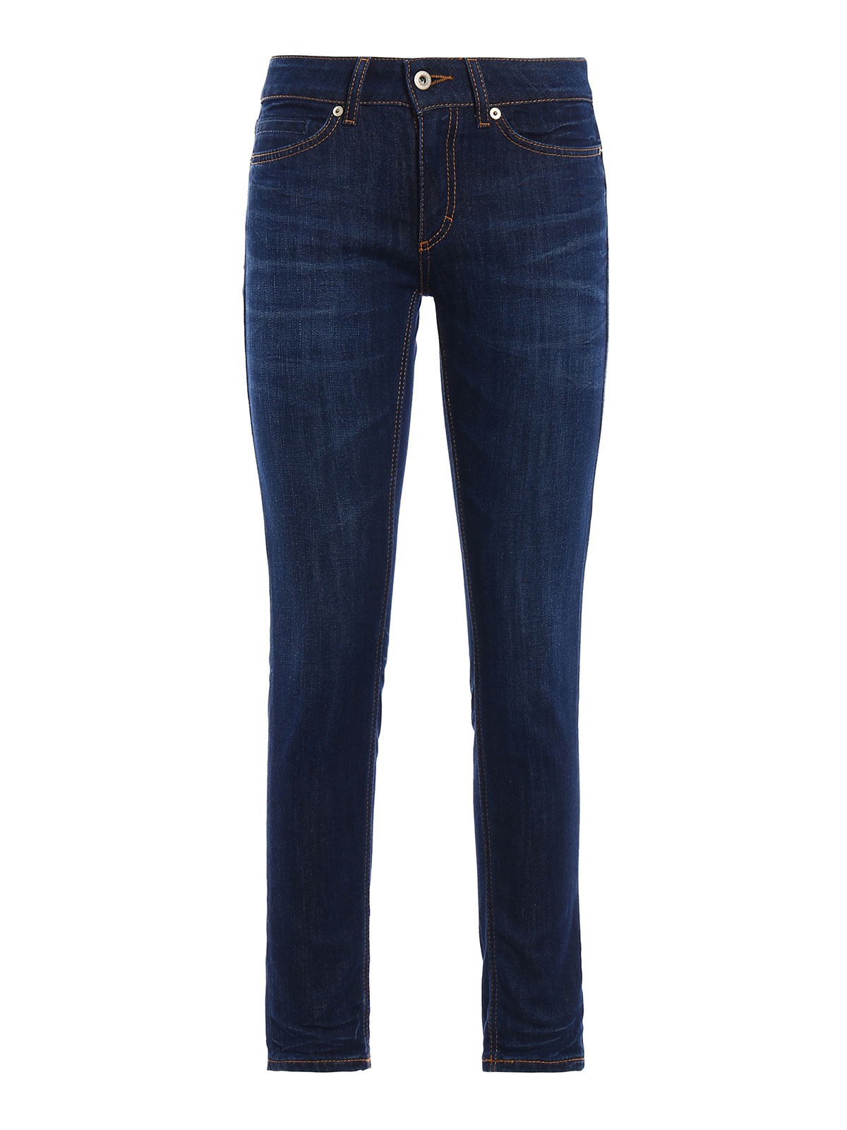 gaynor skinny low waisted jeans by dondup skinny jeans. Black Bedroom Furniture Sets. Home Design Ideas