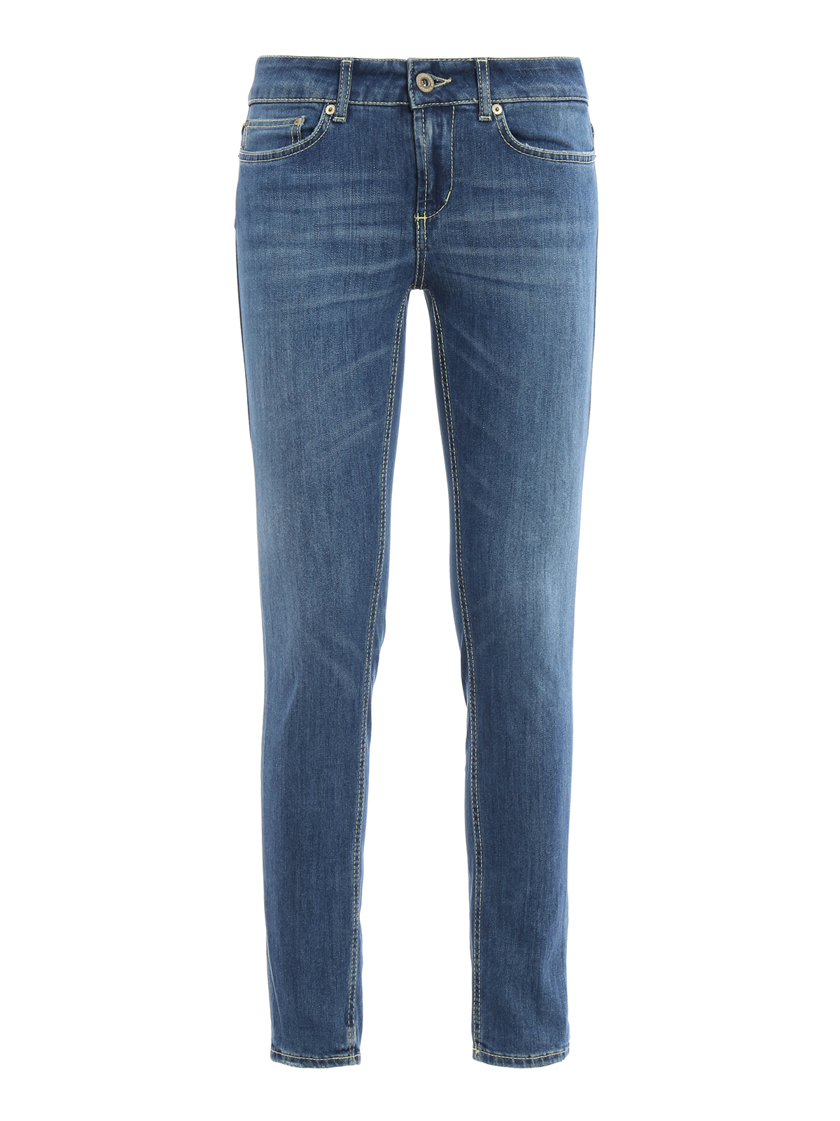 monroe low waist jeans by dondup skinny jeans shop online at p692 ds146d o46 800. Black Bedroom Furniture Sets. Home Design Ideas
