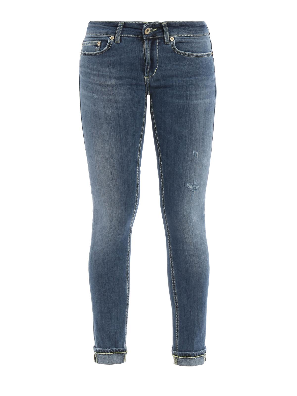 monroe low waist jeans by dondup skinny jeans ikrix. Black Bedroom Furniture Sets. Home Design Ideas