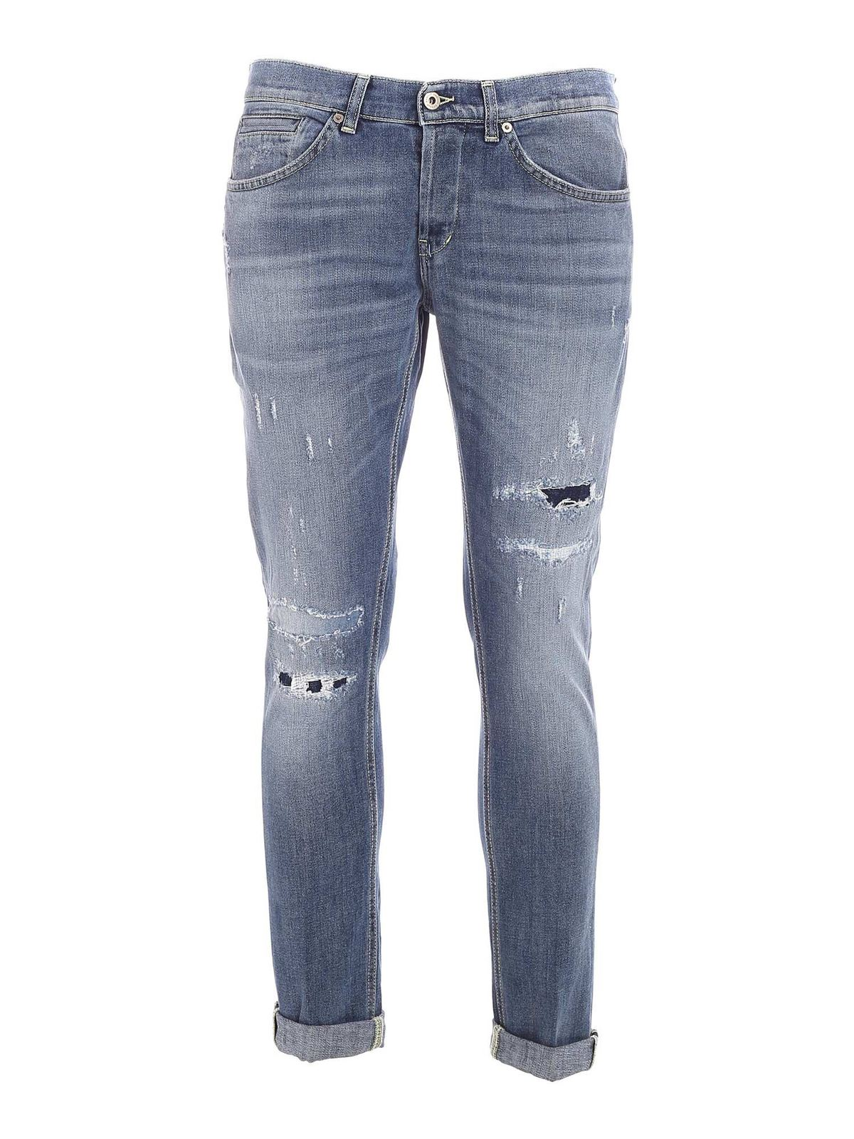 Dondup Cottons GEORGE JEANS IN BLUE