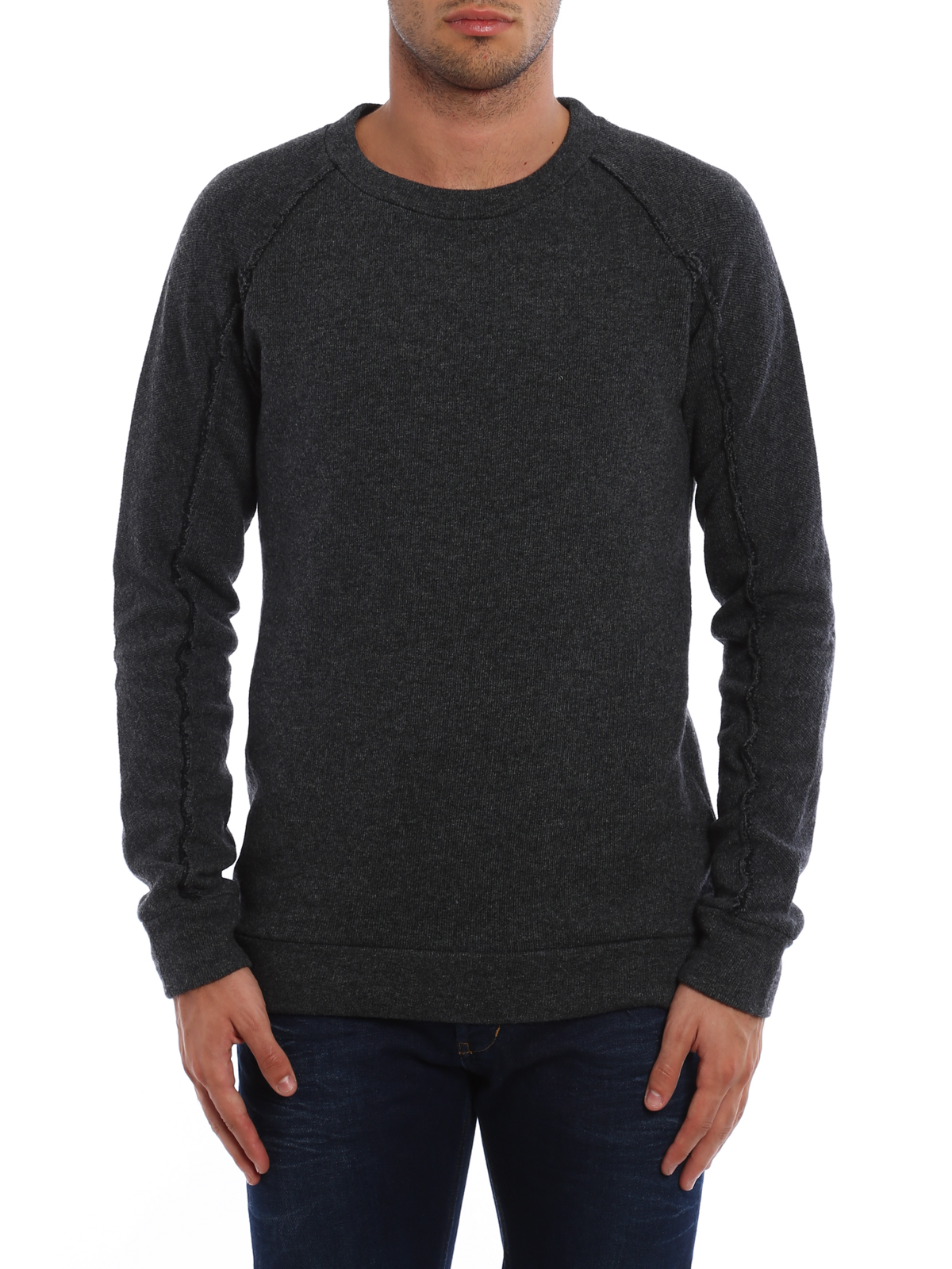 Melange cotton and wool sweater by Dondup - Sweatshirts & Sweaters ...