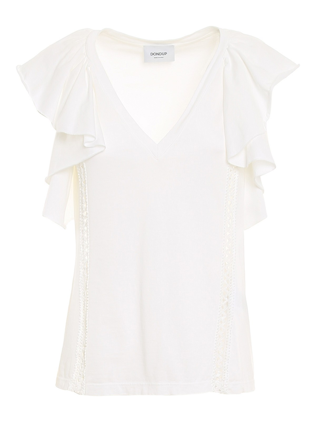 Dondup Cottons COTTON JERSEY TOP