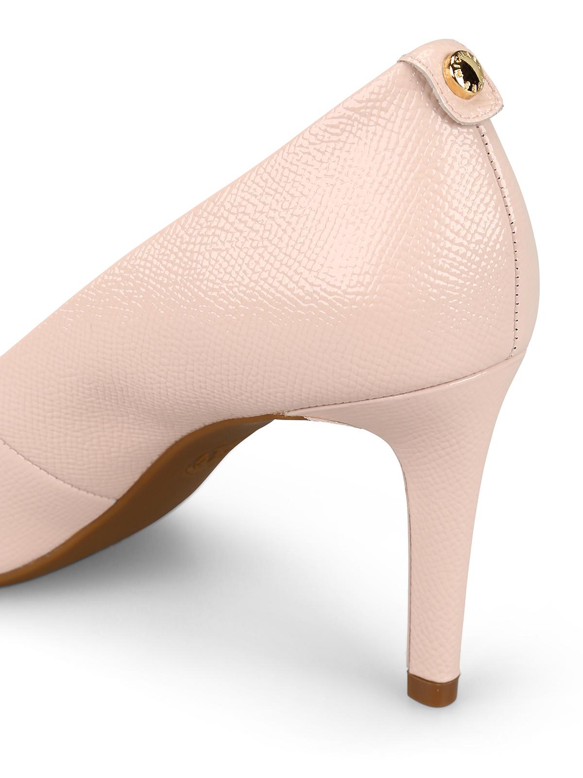michael kors pink high heels