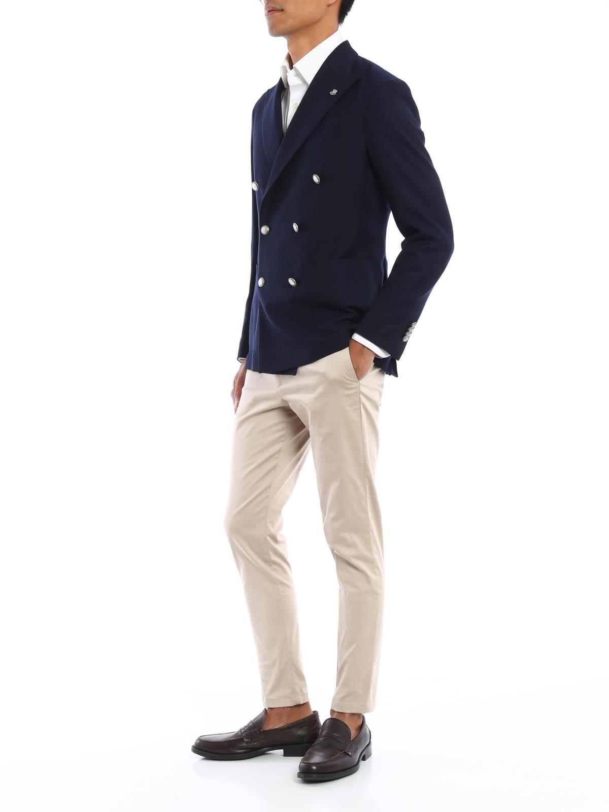 separation shoes c3222 c7311 Tagliatore - Giacca doppiopetto in lana vergine - giacche ...
