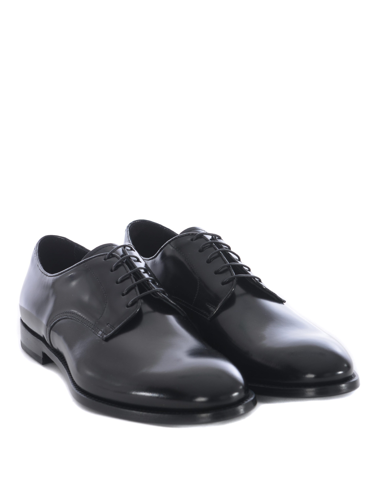 Brown brushed leather derby Doucal's Outlet Where To Buy Professional For Sale 0dDiYvaCfn