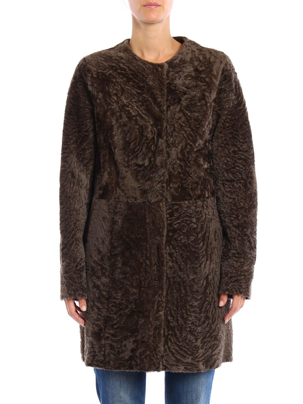 Reversible shearling by Drome - Fur & Shearling Coats | iKRIX