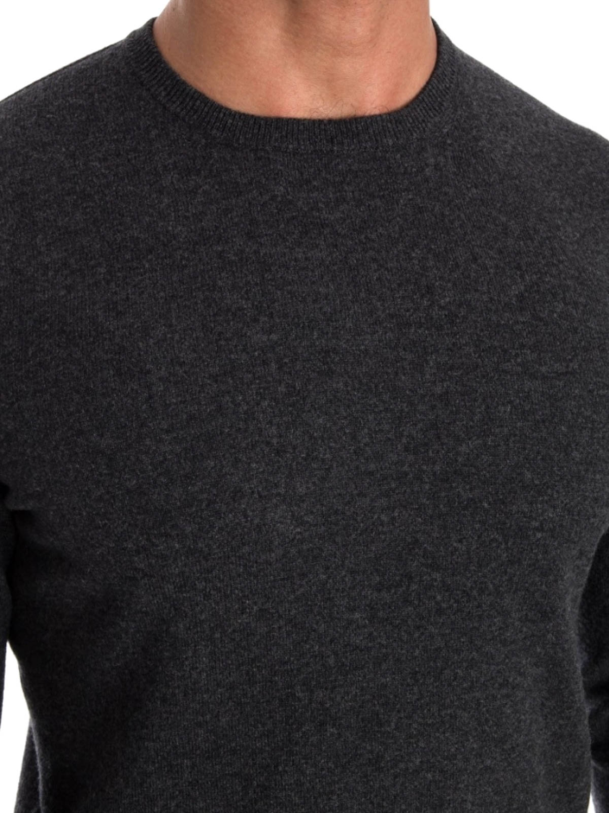Wool and cashmere sweater by Drumohr - crew necks | iKRIX