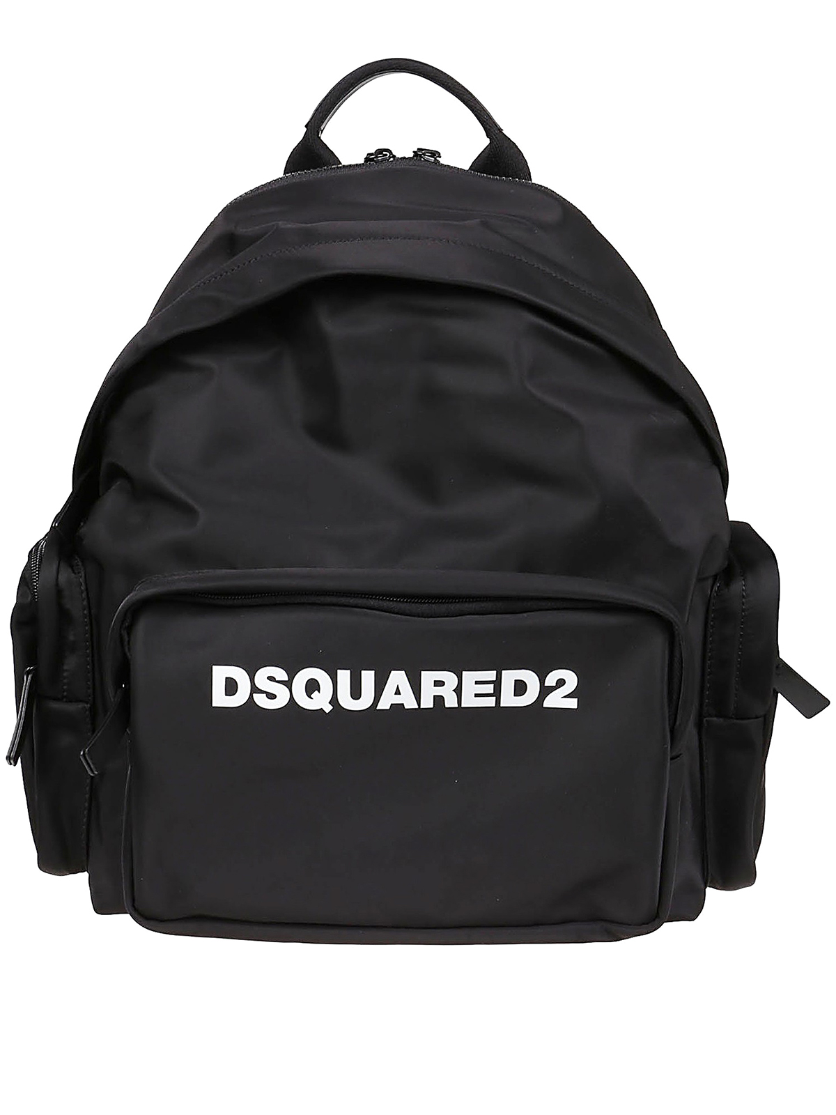 Dsquared2 Leathers LOGO PRINT BACKPACK