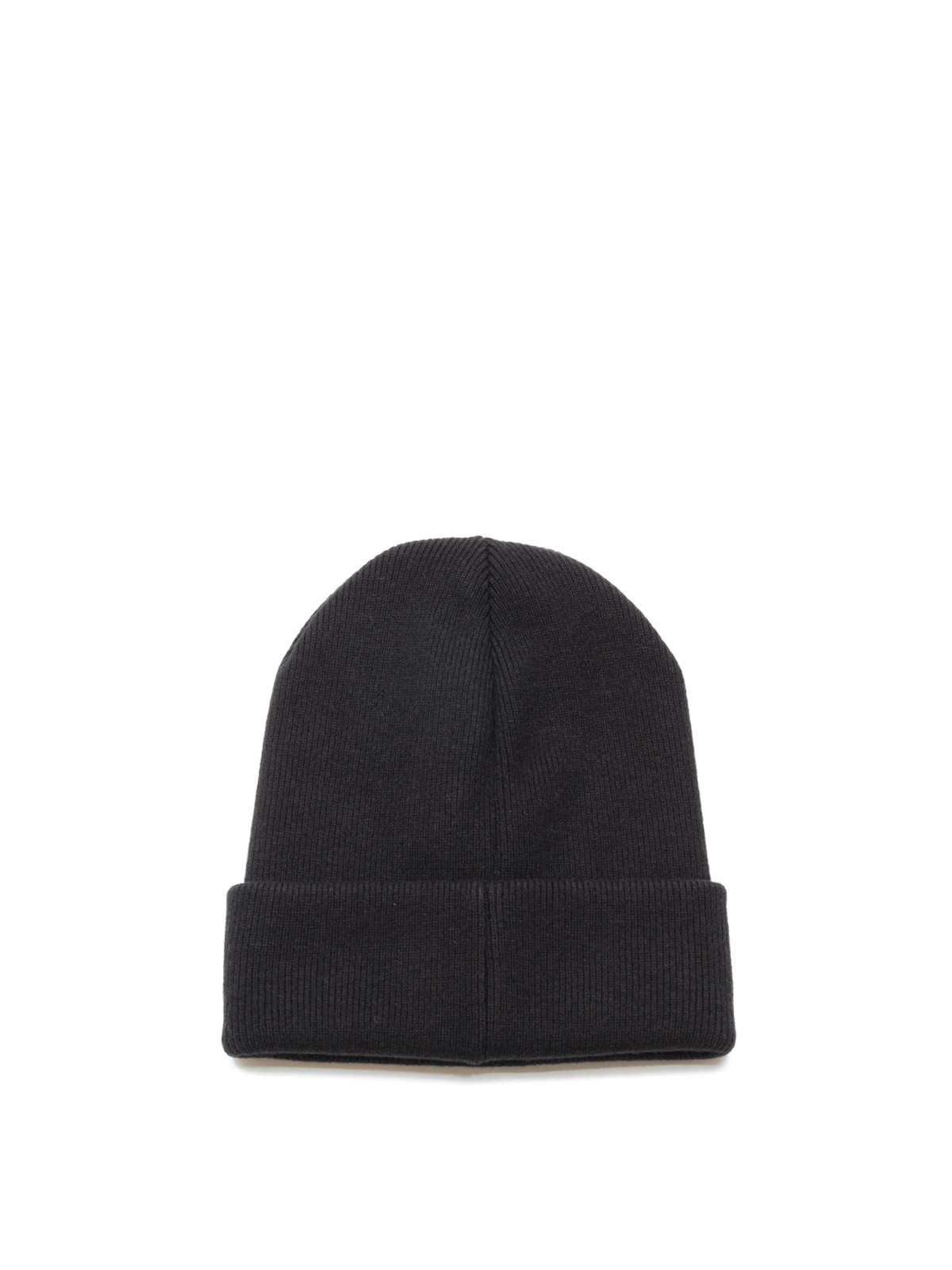 ribbed logo beanie - Grey Dsquared2