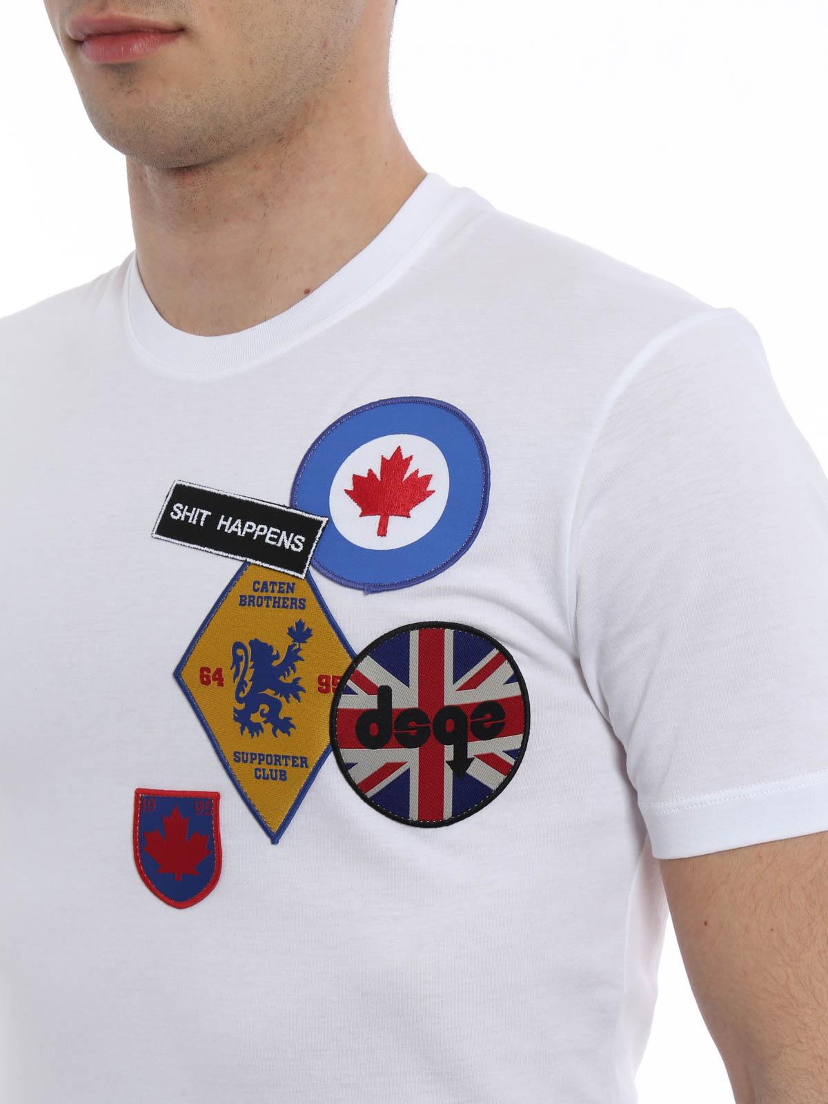 Dsquared2 T Shirt Blanc Pour Homme T shirts