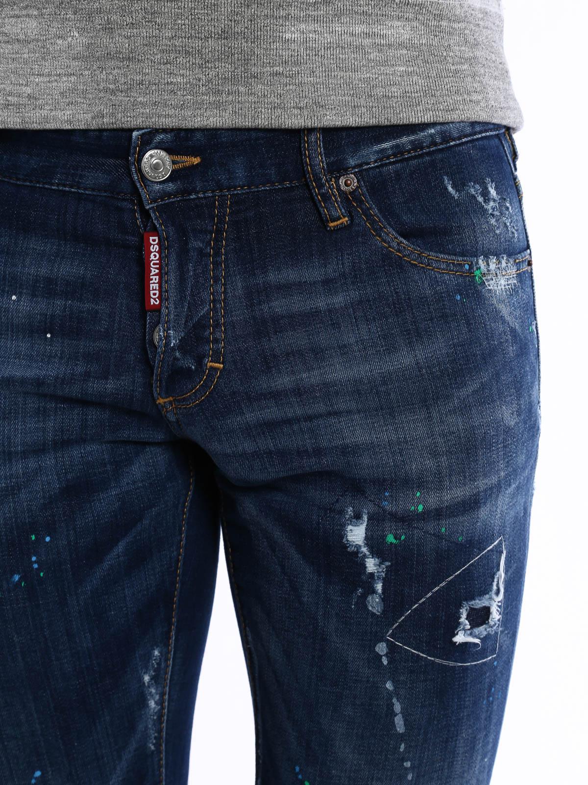 608c051416 Dsquared2 - Slim jeans - skinny jeans - S74LA0900 S30342 470