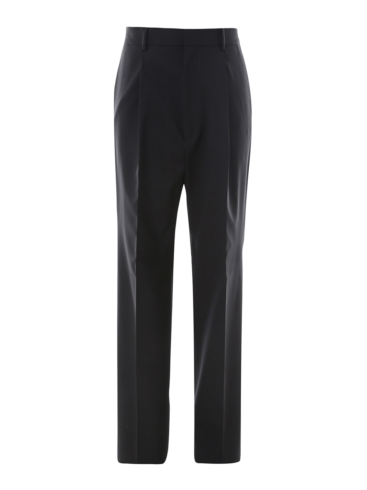 Dsquared2 Wools WORSTED WOOL FLARED TROUSERS