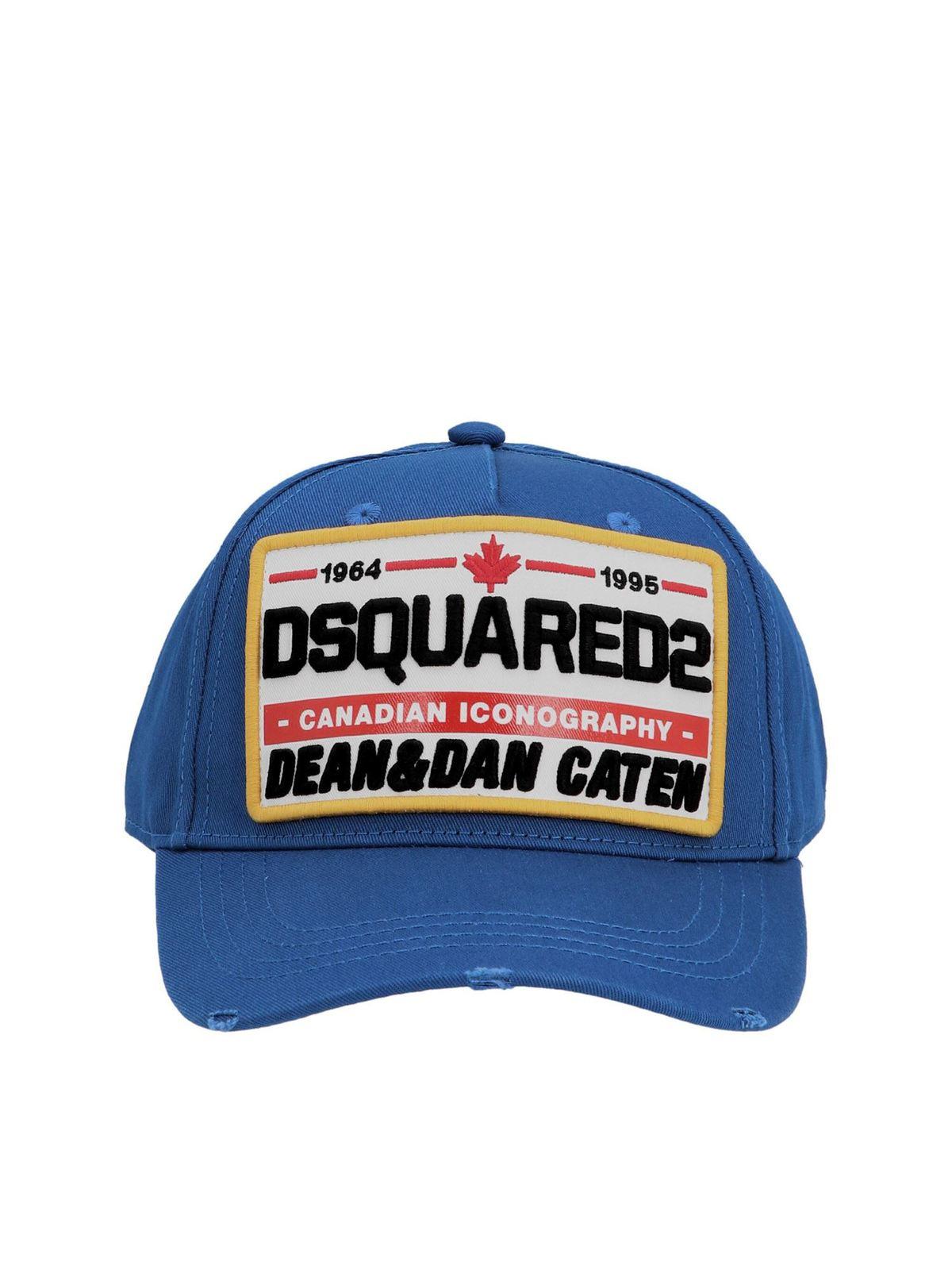 Dsquared2 BASEBALL CAP IN BLUE