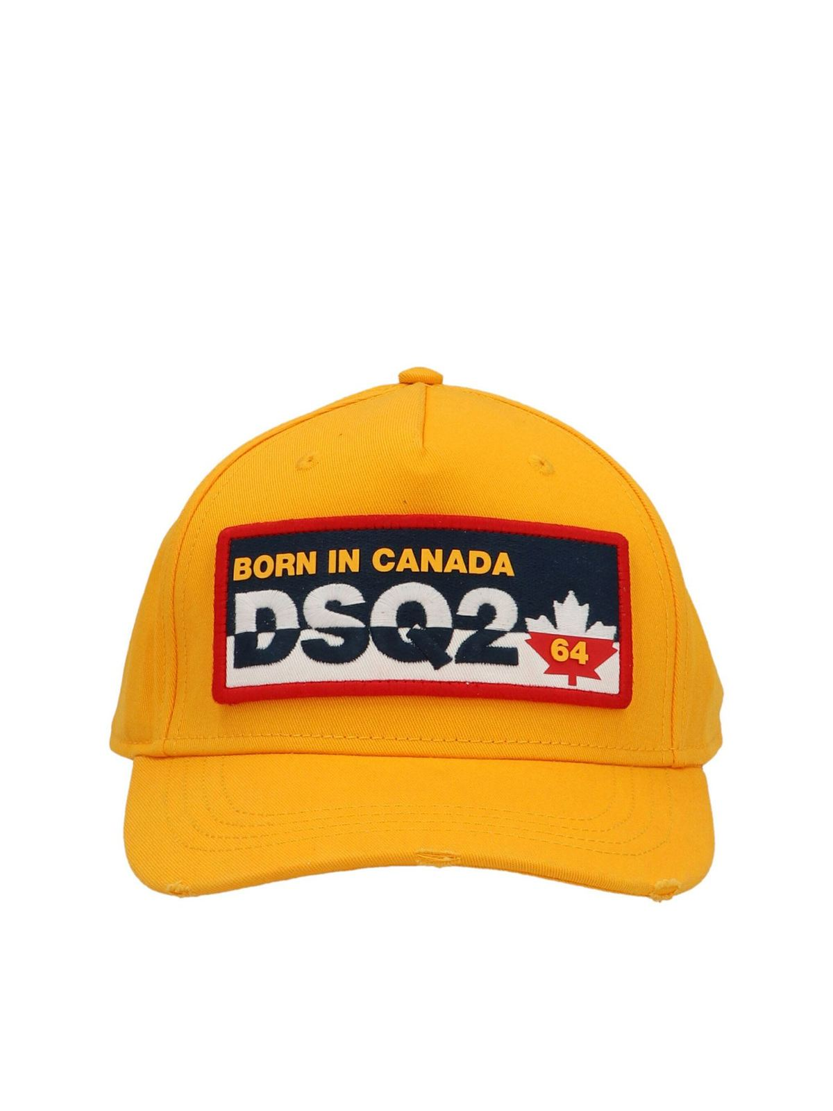 Dsquared2 Caps DSQ2 CAP IN YELLOW