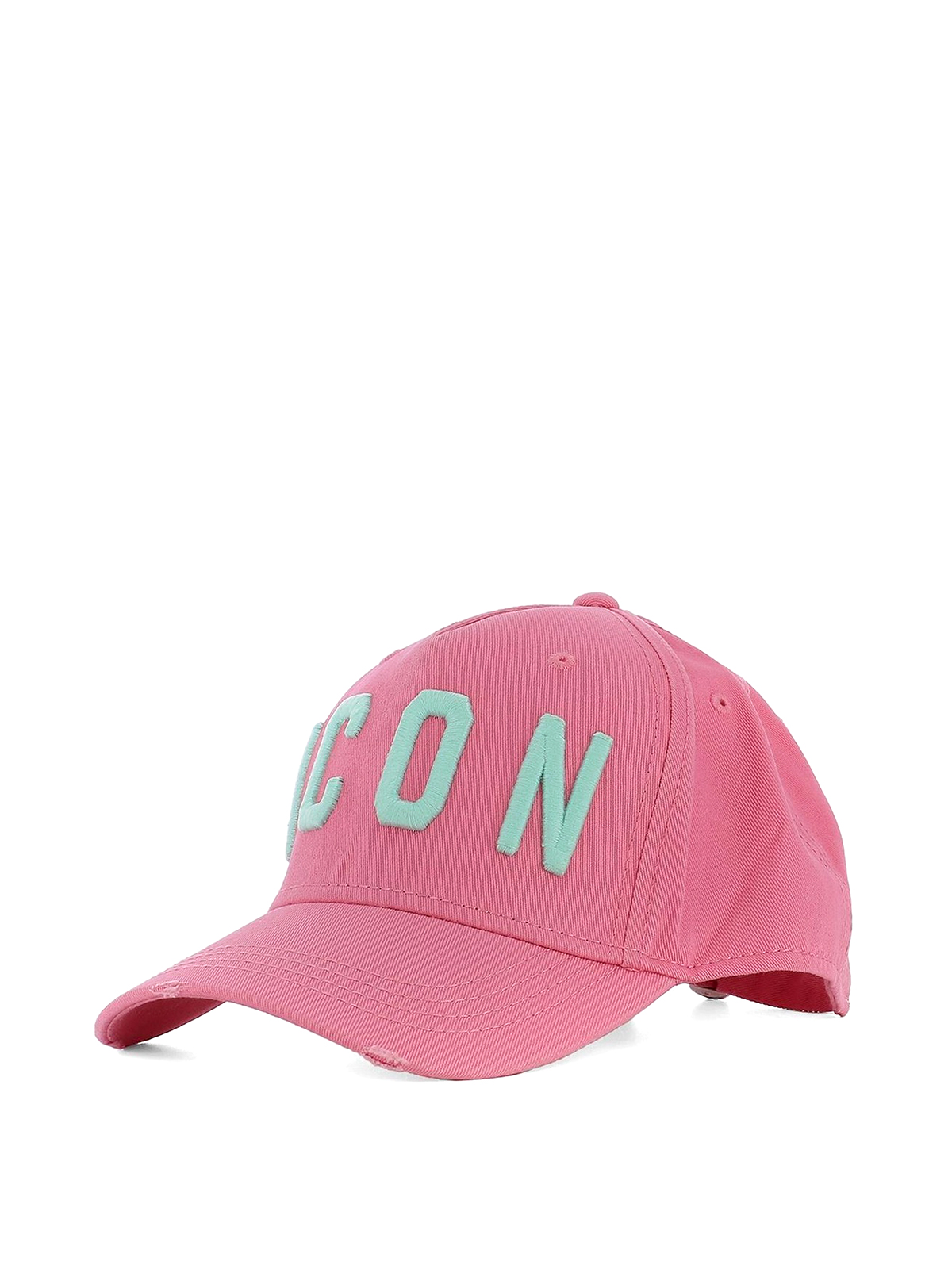 d885b0626 Dsquared2 - Icon pink baseball cap - hats & caps - BCM400105C00001M1387