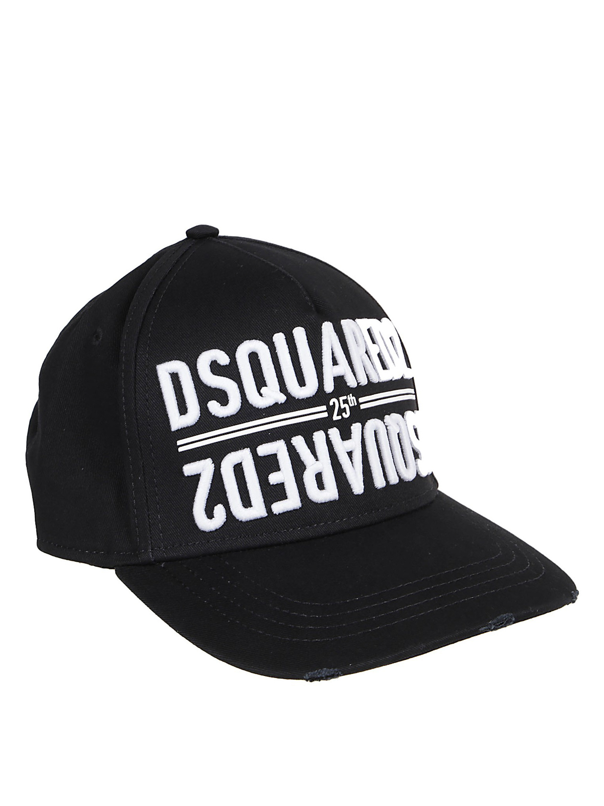 Dsquared2 LOGO EMBROIDERY COTTON GABARDINE CAP