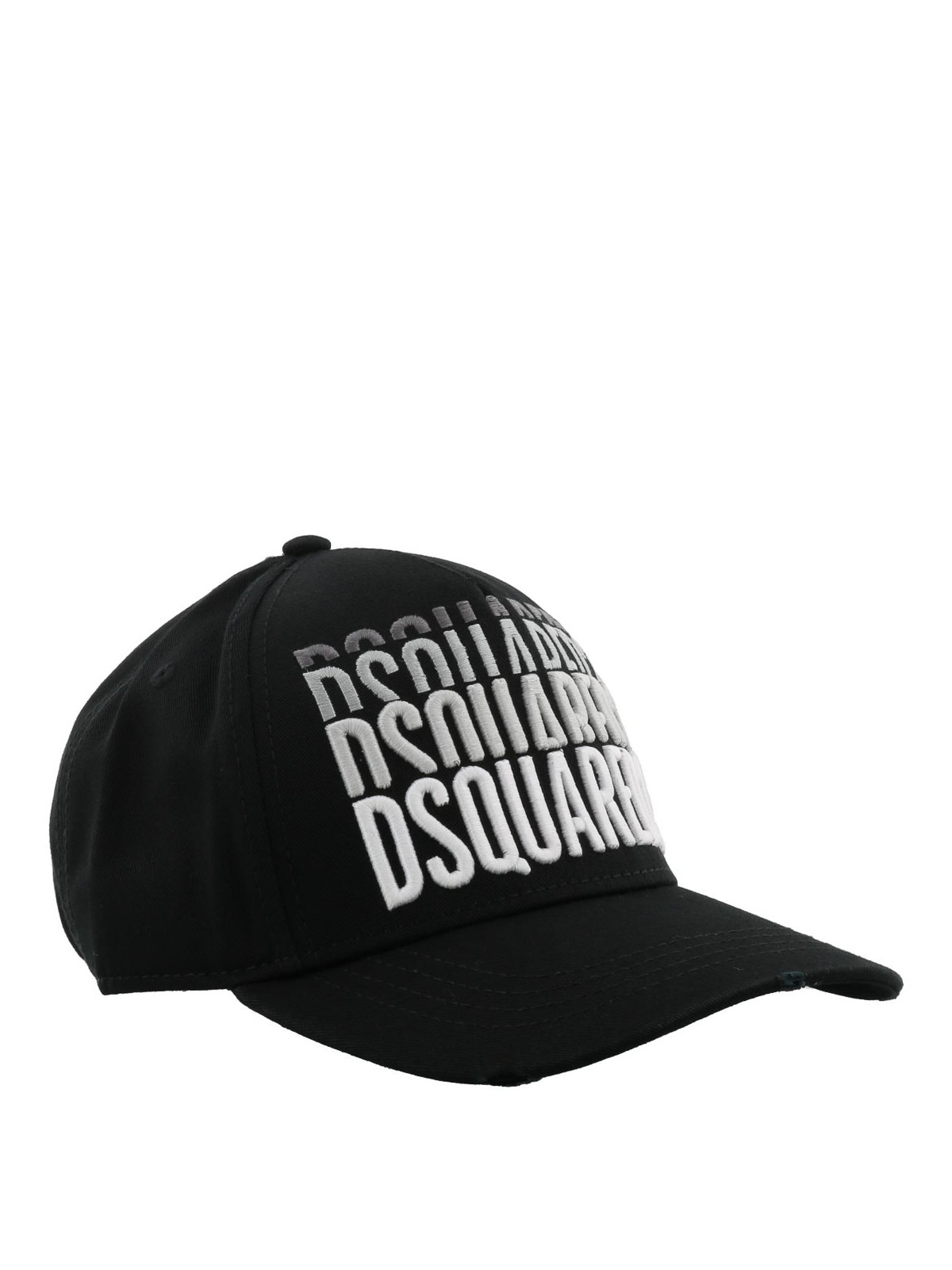 e400030c7 Dsquared2 - Repeated logo cotton baseball cap - hats & caps ...