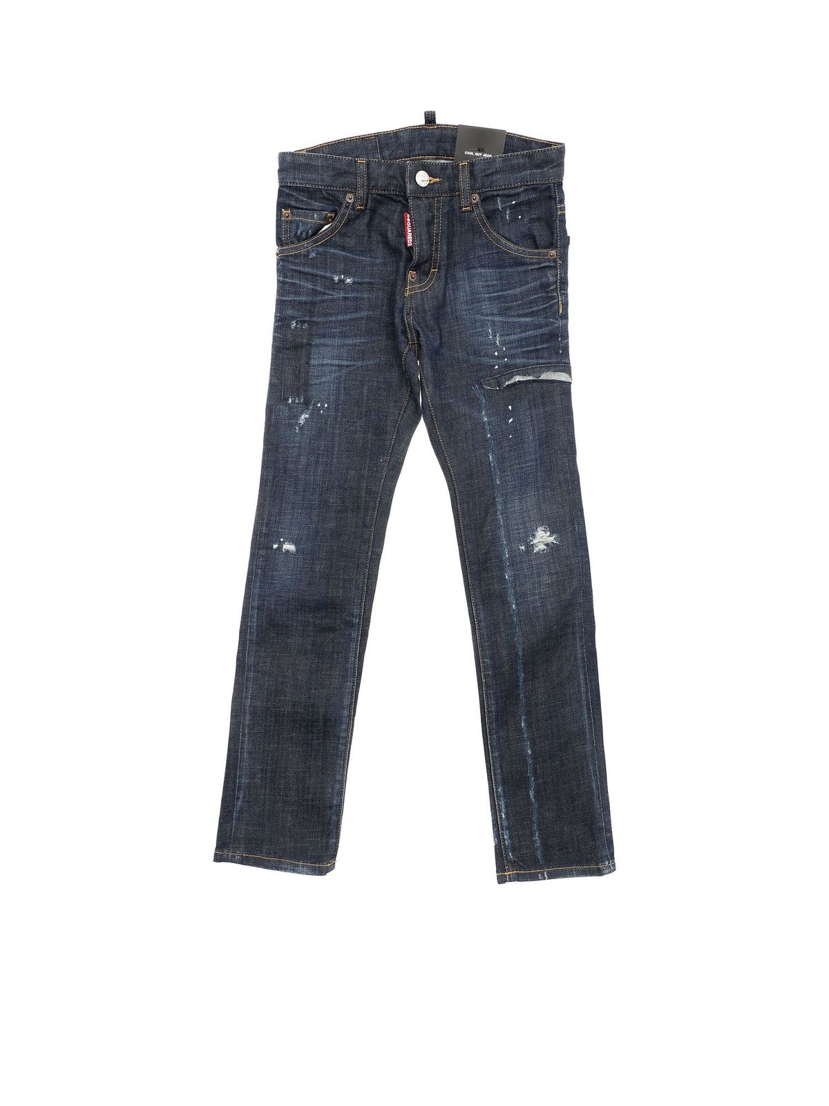 Dsquared2 COOL GUY JEANS IN BLUE