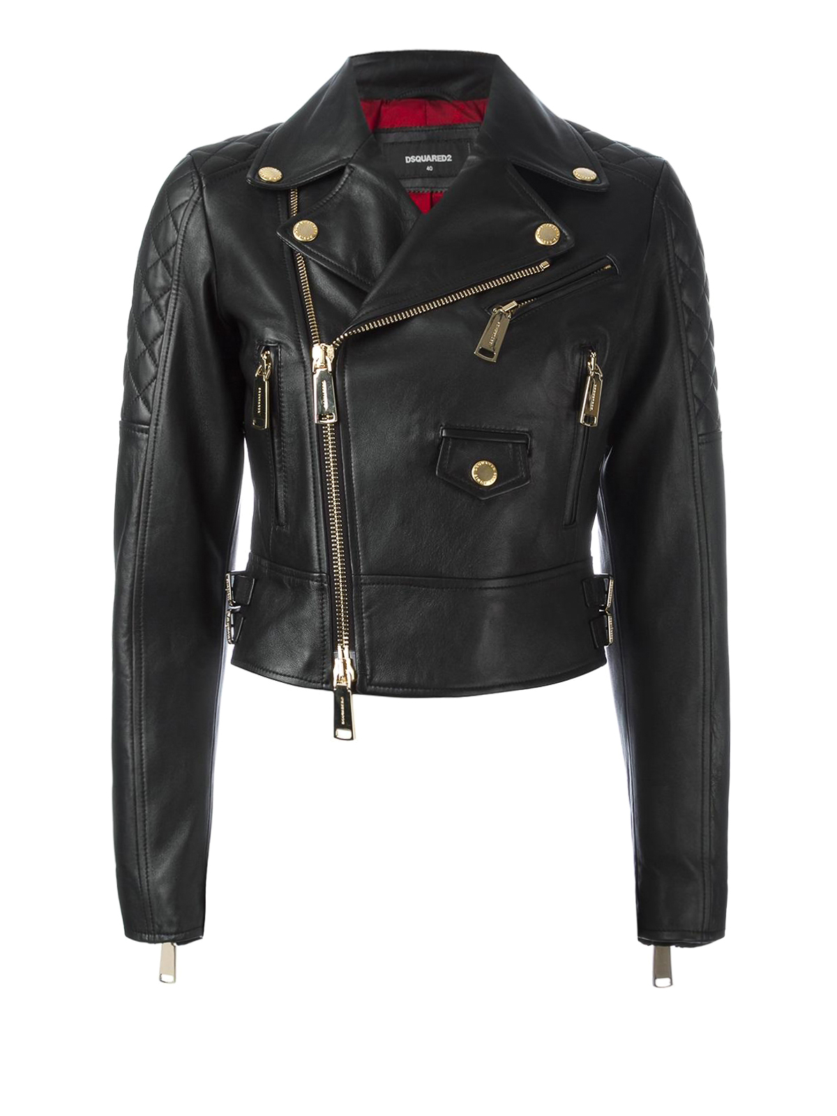 Dsquared2 leather jacket