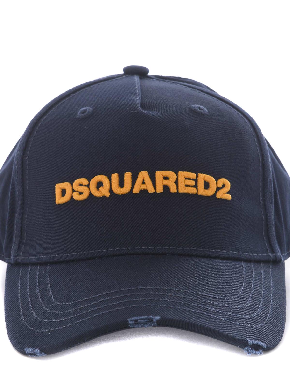 DSQUARED2  cappelli online - Cappello da baseball D2 in cotone b0123a659c0e