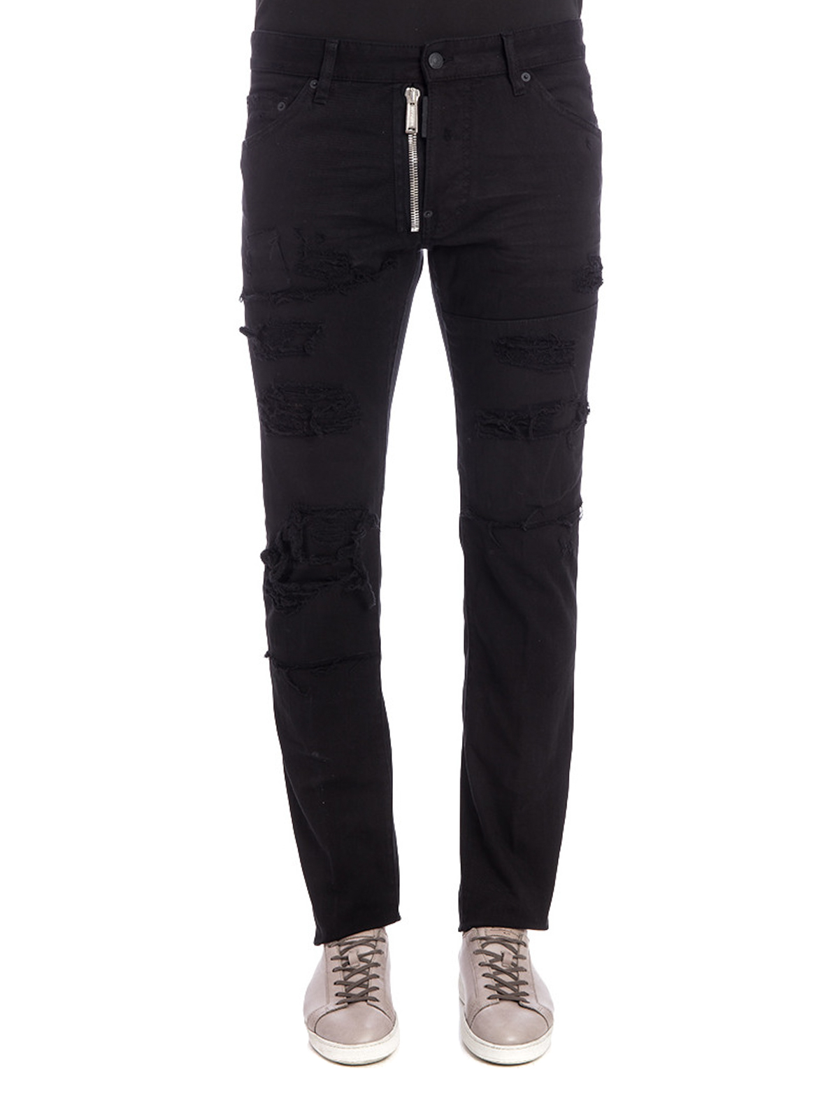 37d18f53031 DSQUARED2  skinny jeans online - Distressed coloured denim jeans