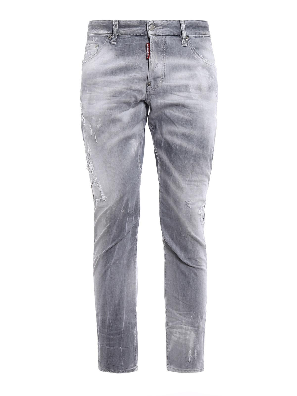 58fd1019c Dsquared2 - Jean Skinny - Sexy Twist - Jeans skinny - S71LB0413 ...
