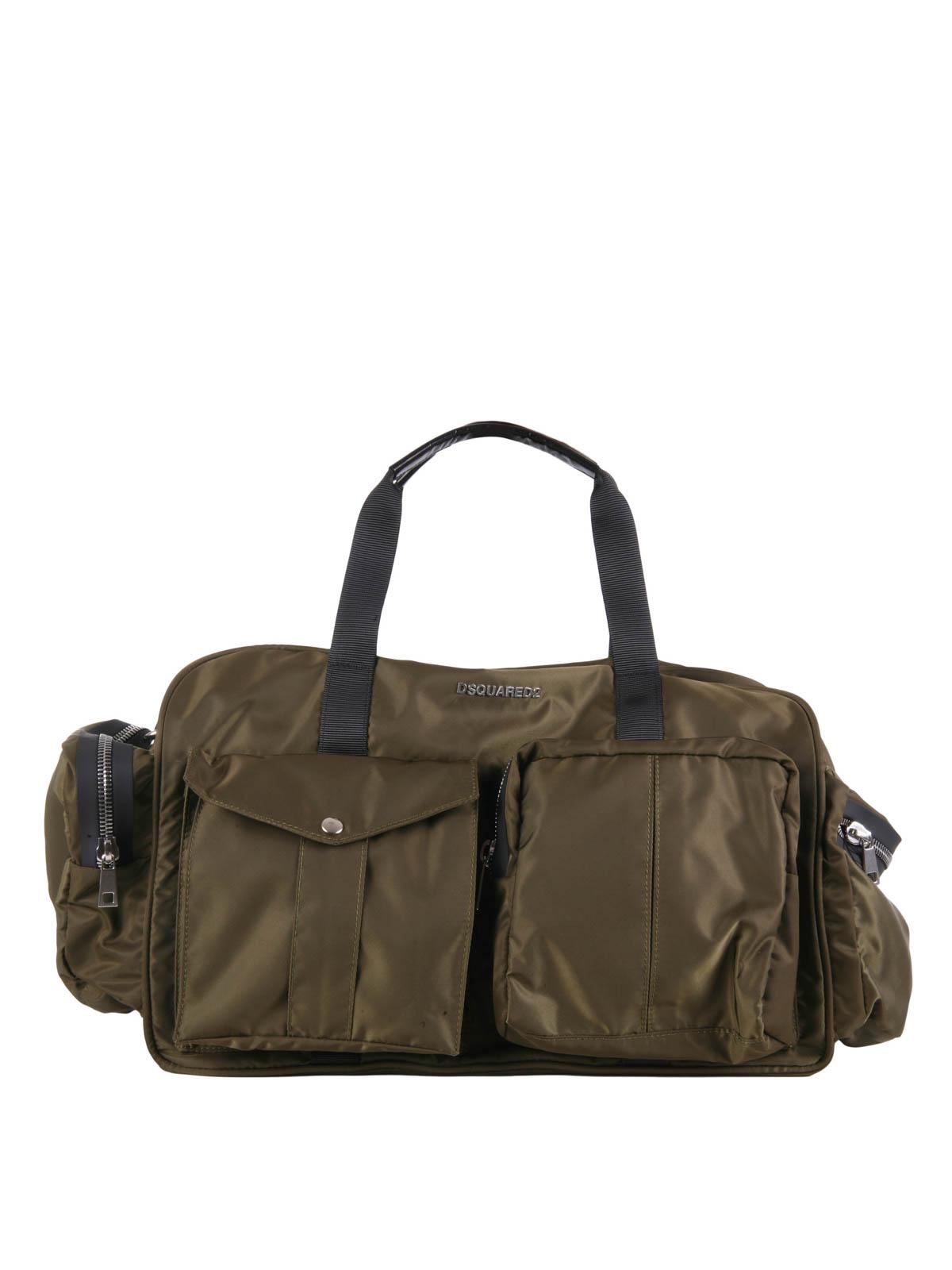 e8e197e6ad87 Dsquared2 - Utility duffle bag - sport bags - W16DF4015 8066
