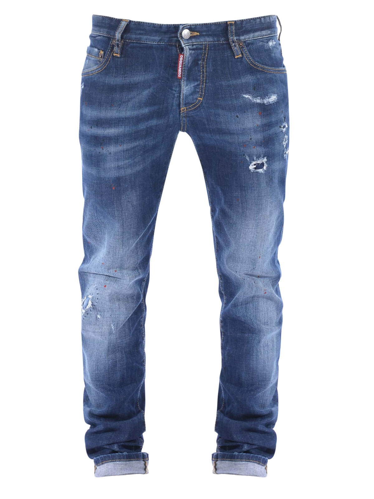 Five pockets straight leg jeans by Dsquared2