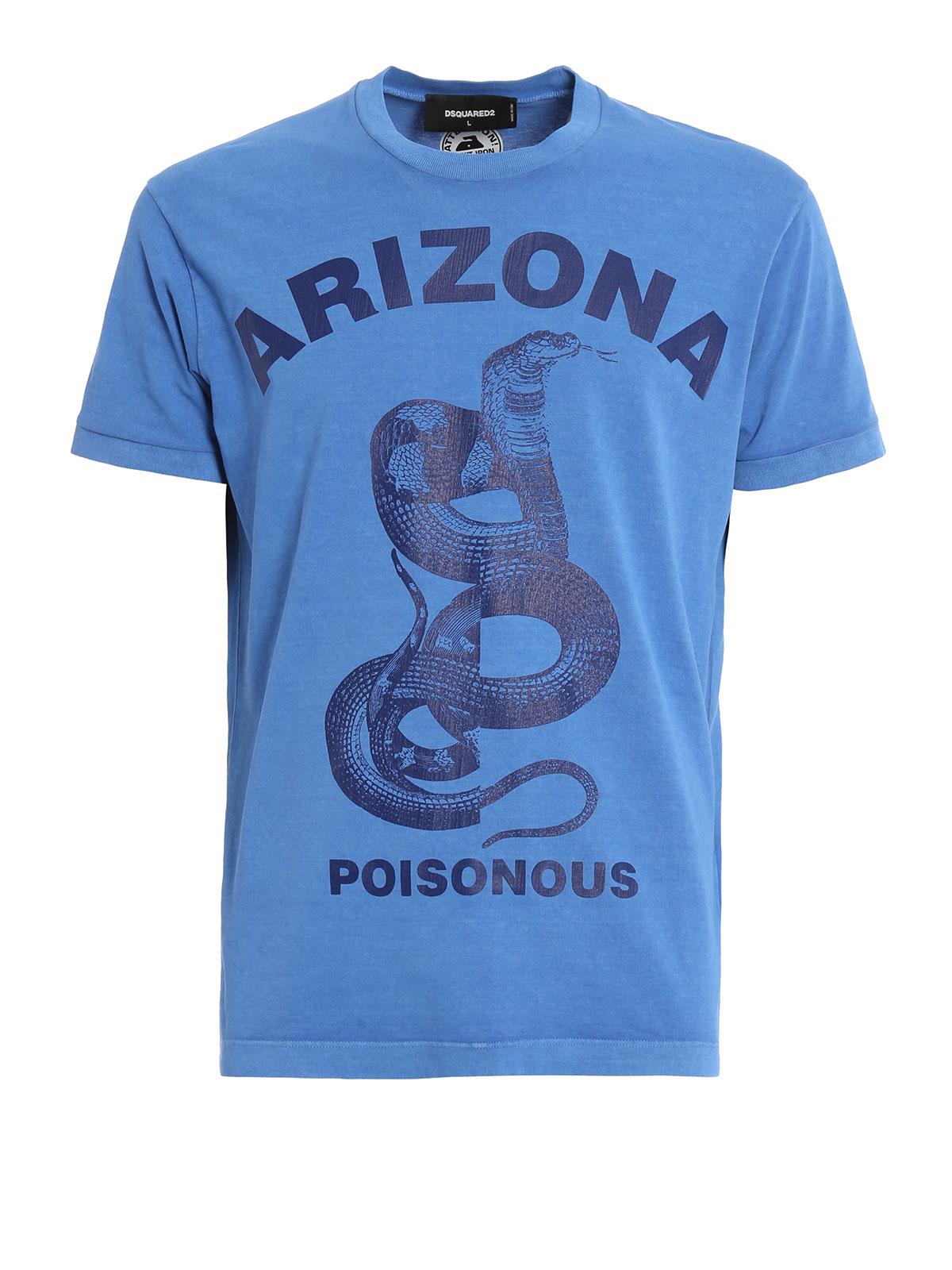 Arizona print vintage t shirt by dsquared2 t shirts ikrix for Vintage t shirt printing