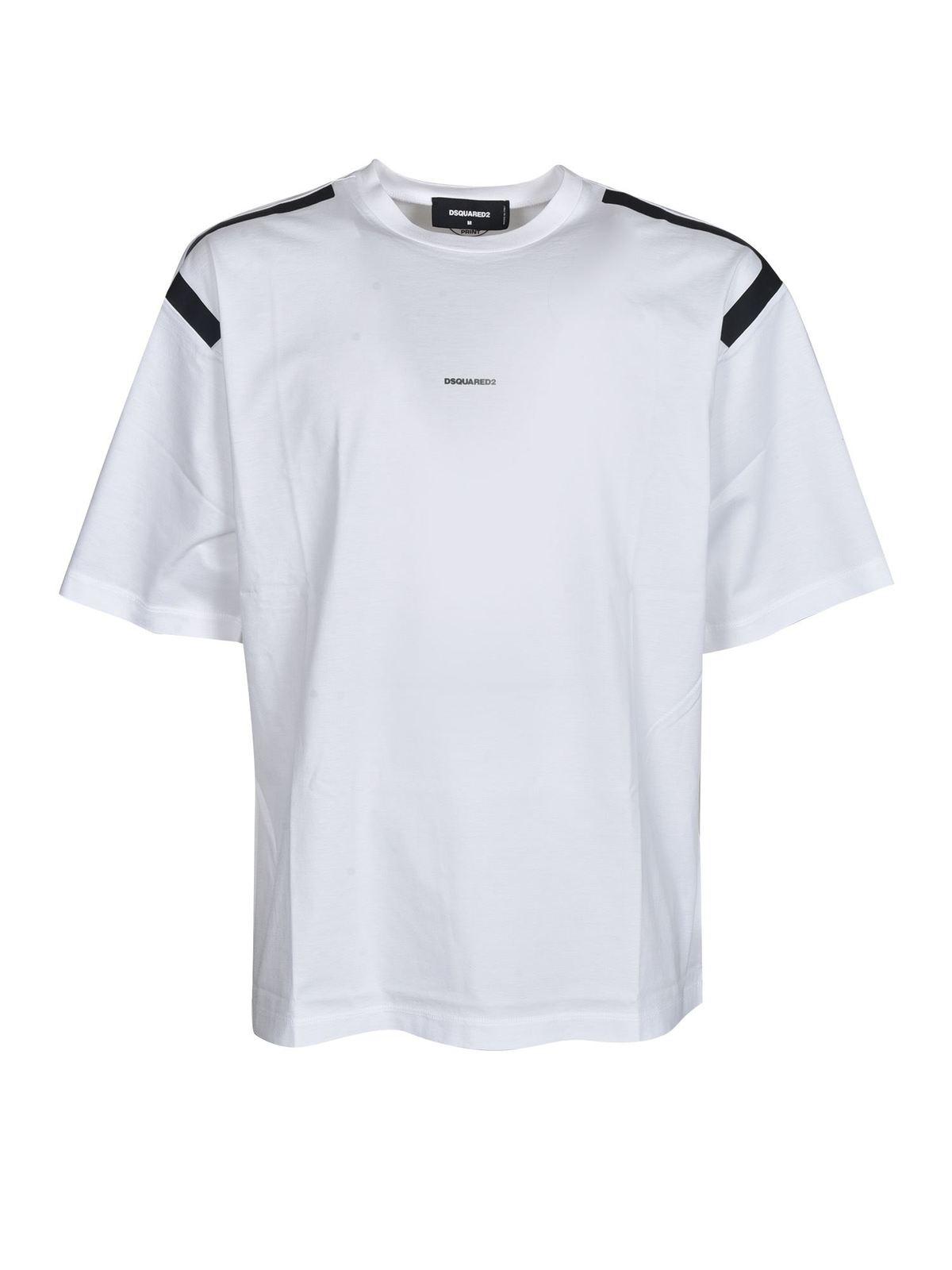 Dsquared2 RELAXED FIT T-SHIRT IN WHITE