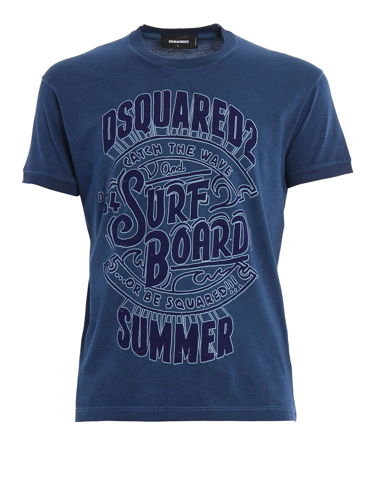 Vintage look printed t shirt by dsquared2 t shirts ikrix for Vintage t shirt printing