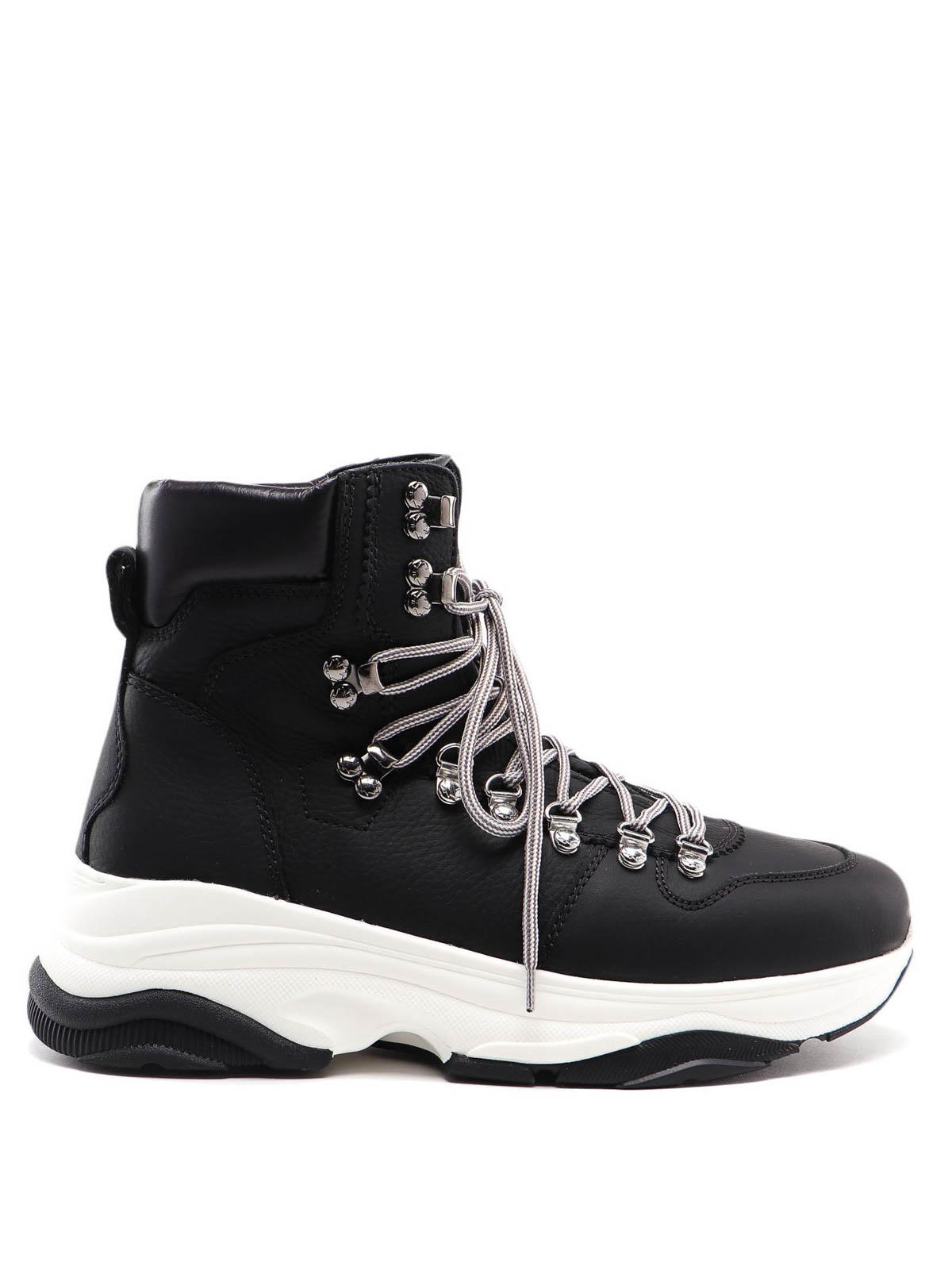 Schwarz Sneakers Dsquared2 icon Herren Stoff