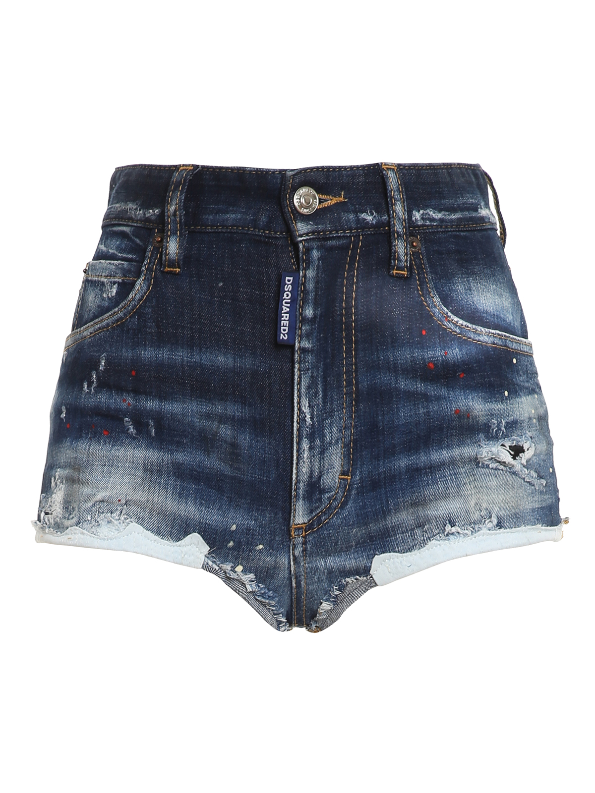 Dsquared2 Shorts STRETCH DENIM SHORTS