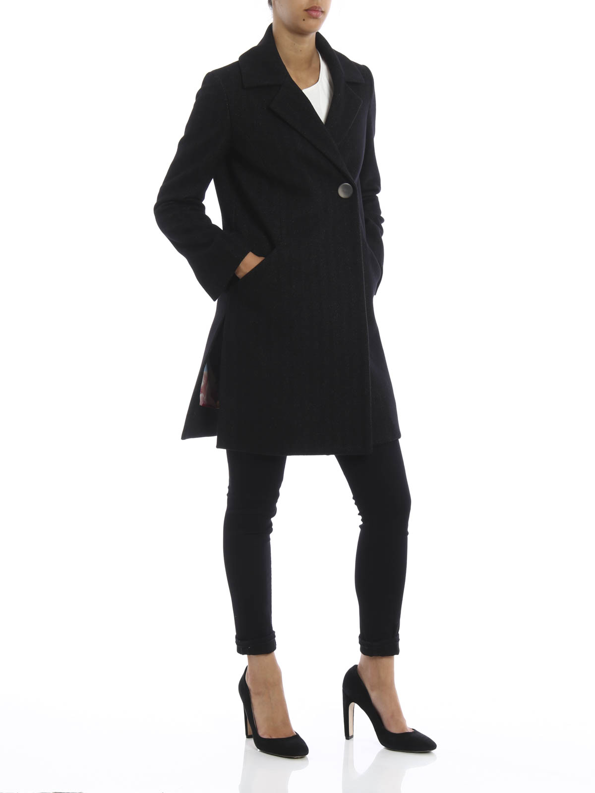 Dondup - Dullie coat - knee length coats - J982 FF171D XXX 999 ... e3f6da2e5bf2