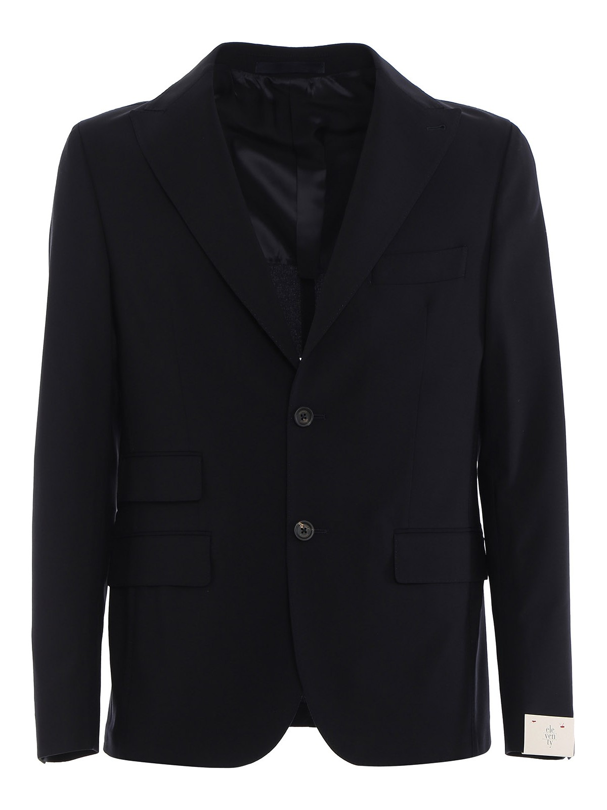 Eleventy STRETCH BRUSHED WOOL SUIT