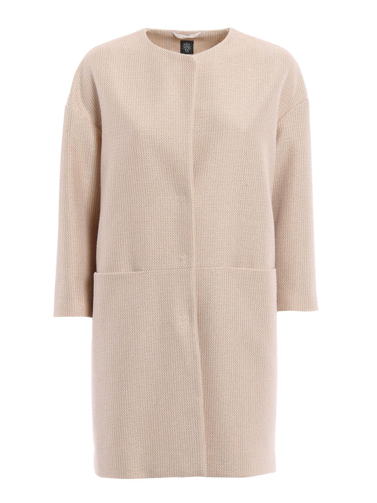 Chanel Short Coat By Eleventy Coats IKRIX