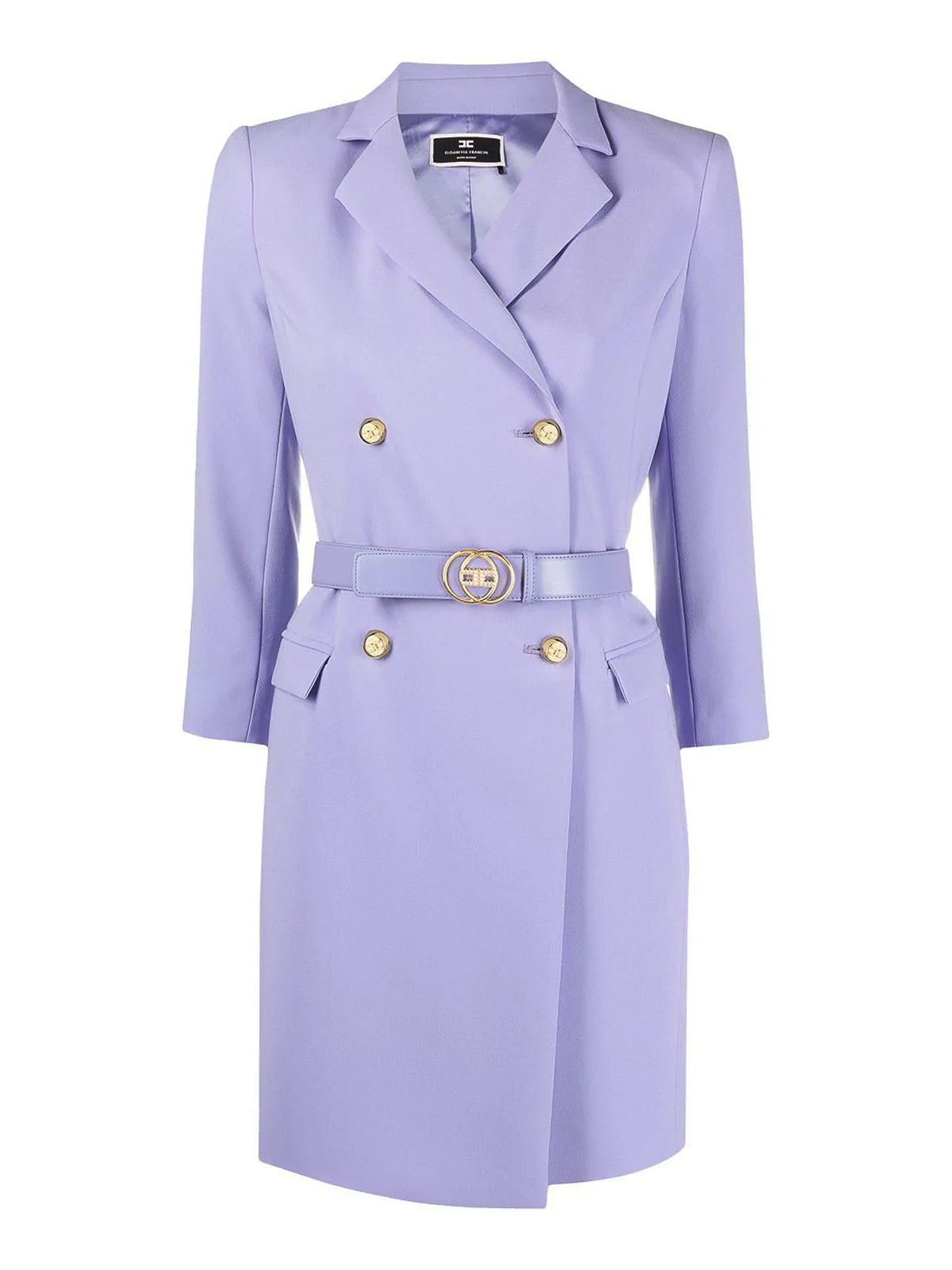 Elisabetta Franchi Dresses CREPE BLAZER DRESS