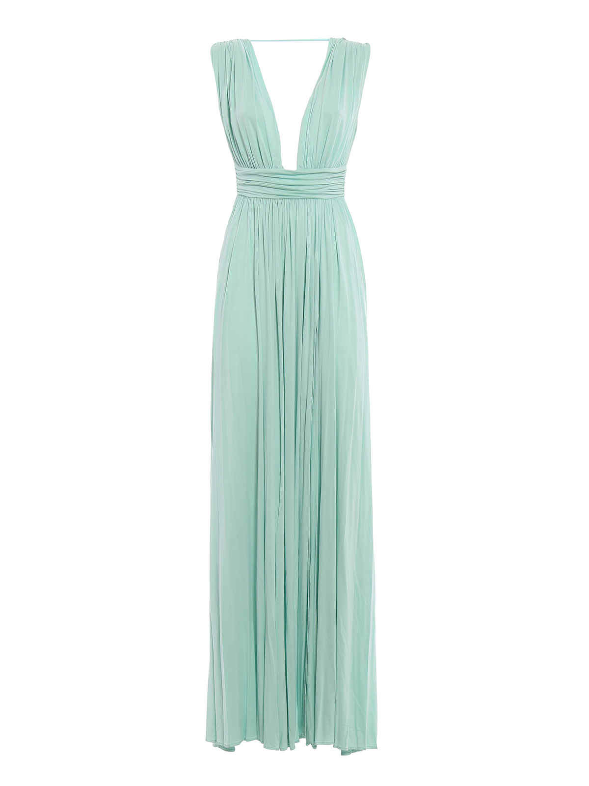 Abiti Da Sera Elisabetta Franchi.Elisabetta Franchi Romantic Silky Greek Dress Evening Dresses