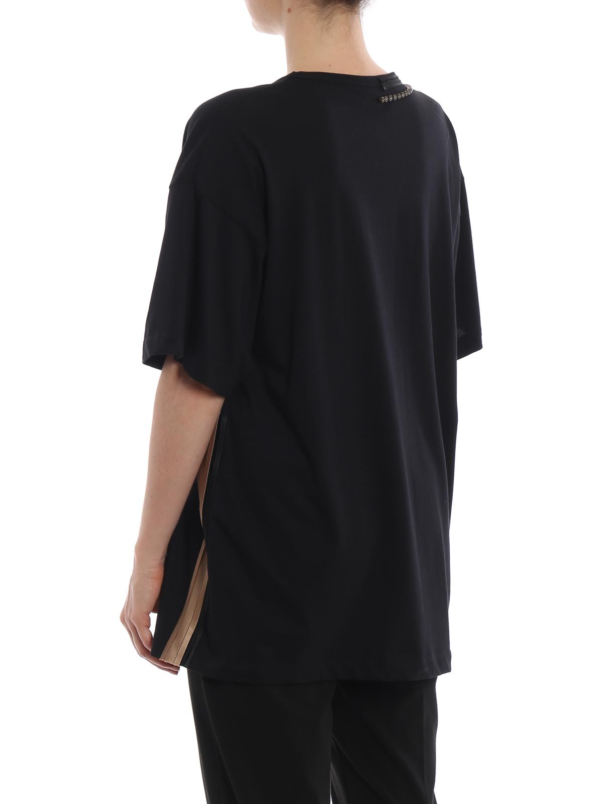 N 21 T Shirt Schwarz T Shirts 18in2p0f06141579000 Ikrix Com