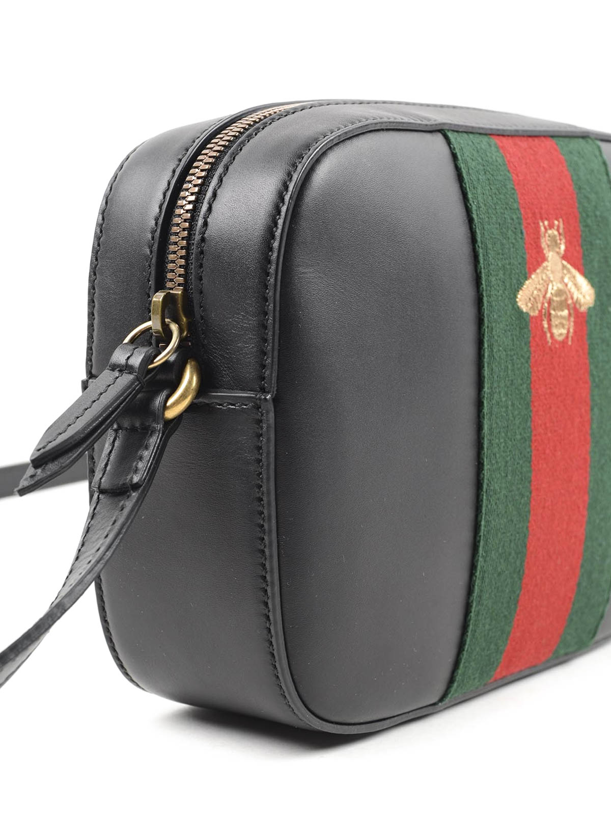 información para 934c2 fdb4d Gucci - Bolsa Bandolera Negra Para Mujer - Bolsas bandoleras ...