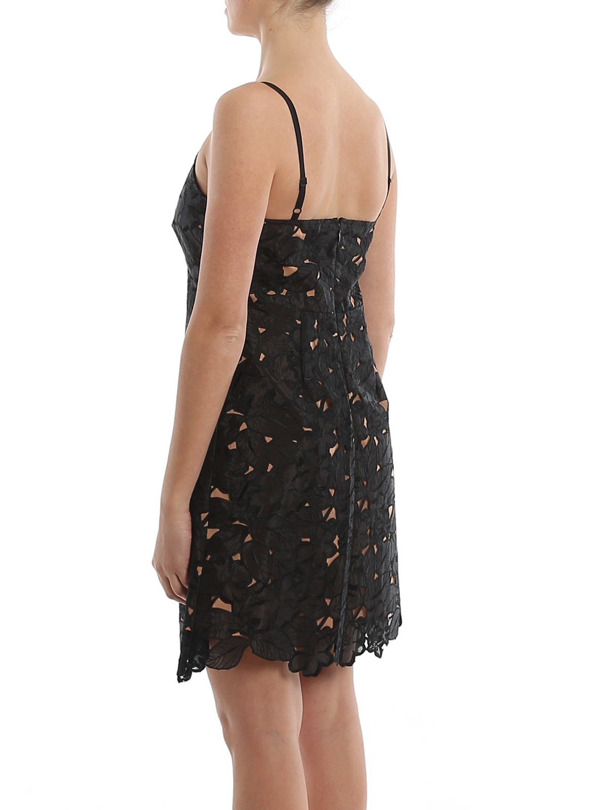 michael kors - abendkleid - schwarz - kurze kleider