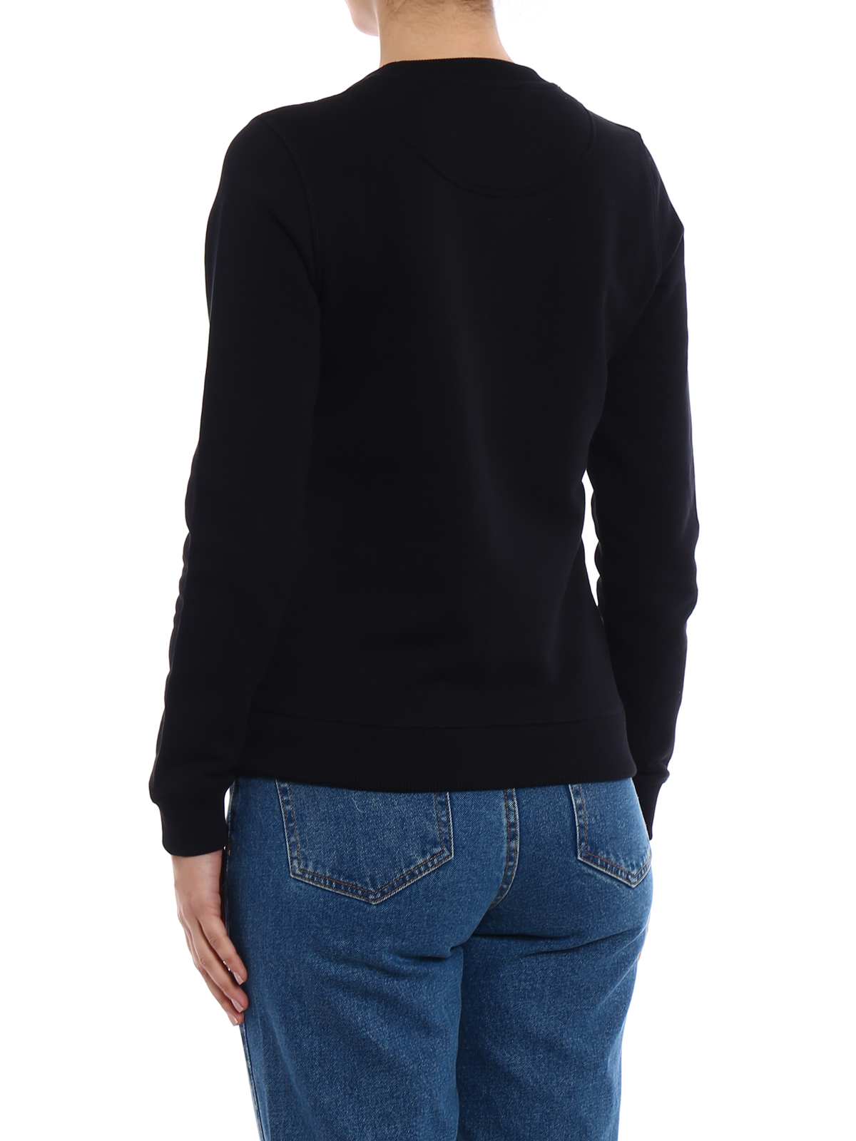 all black kenzo sweater
