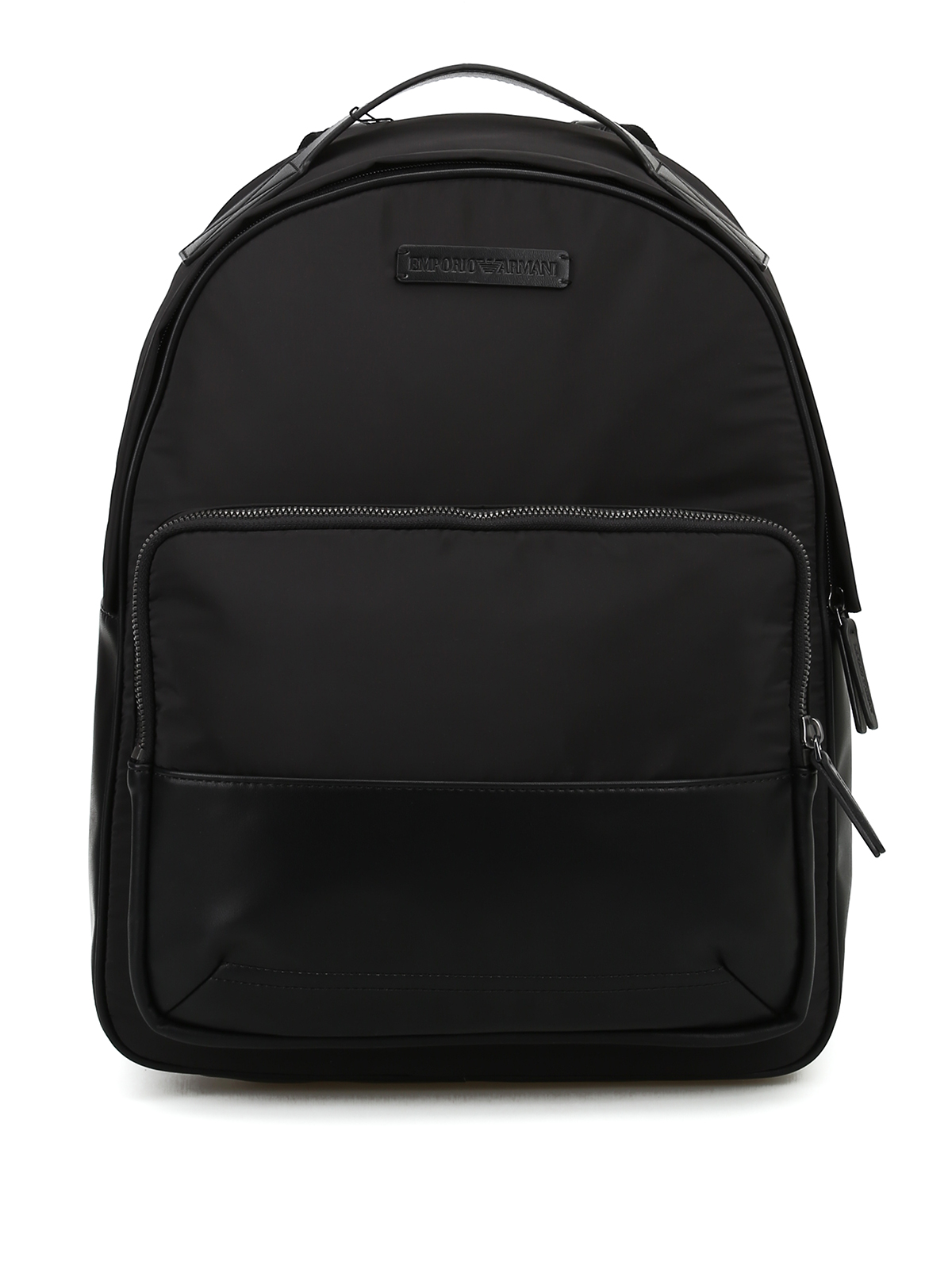 5444fd1898e9 EMPORIO ARMANI  backpacks - Technical fabric and faux leather backpack