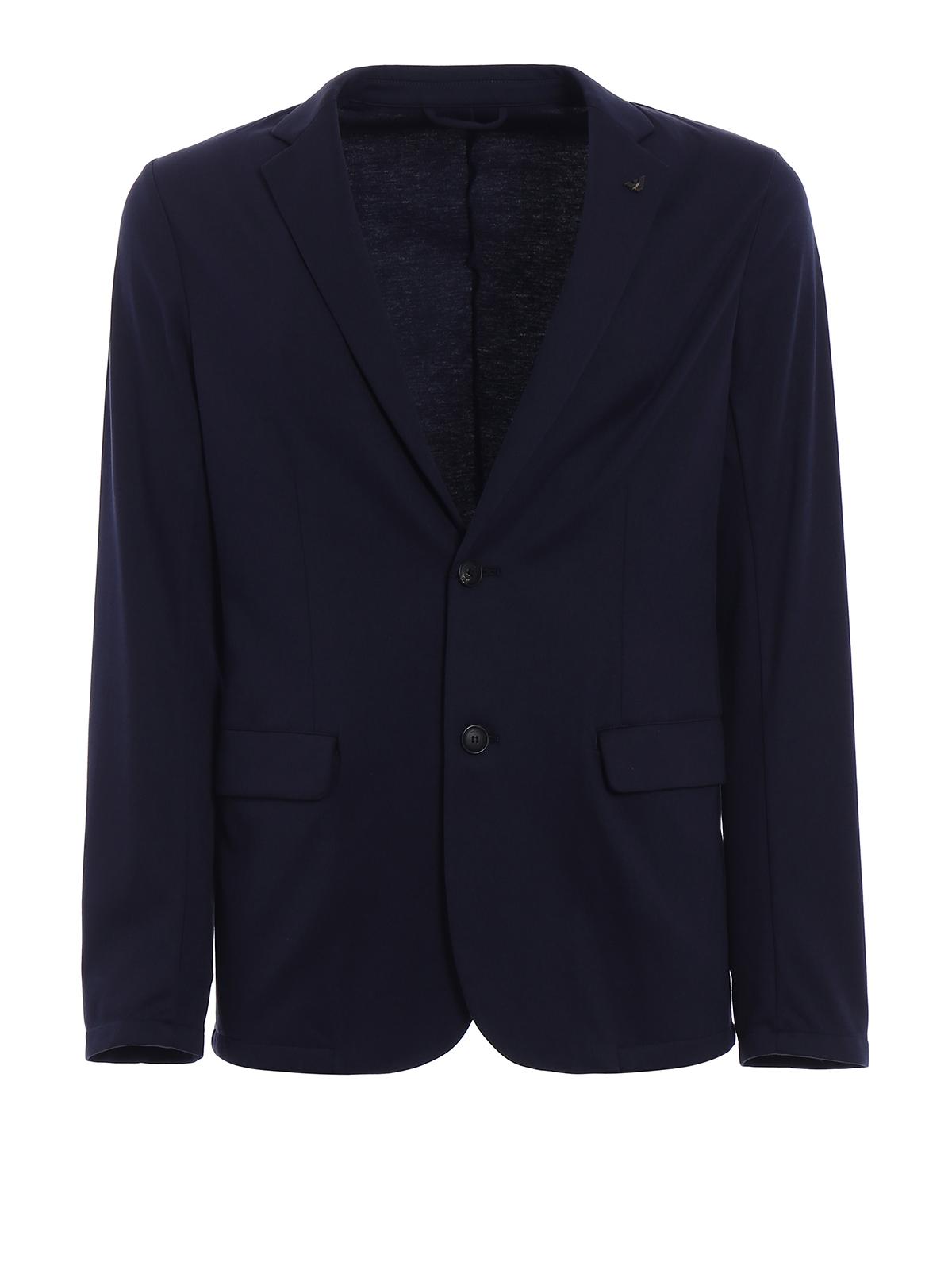 Blazer 3z1g81 Emporio Armani De Costume Bleu Vestes Foncé qR8wP6R5