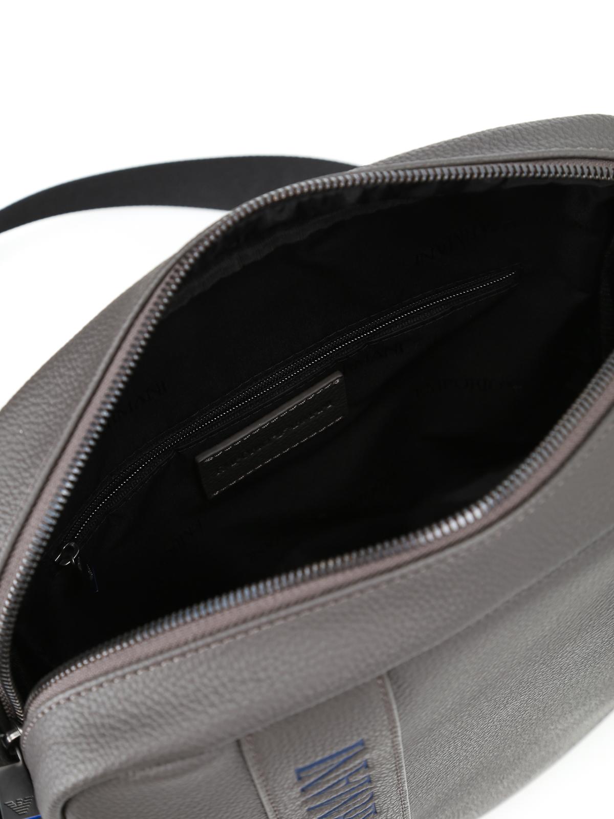 d5ee1c25aeb9 EMPORIO ARMANI buy online Embossed logo faux leather bag · EMPORIO ARMANI  cross  body bags ...