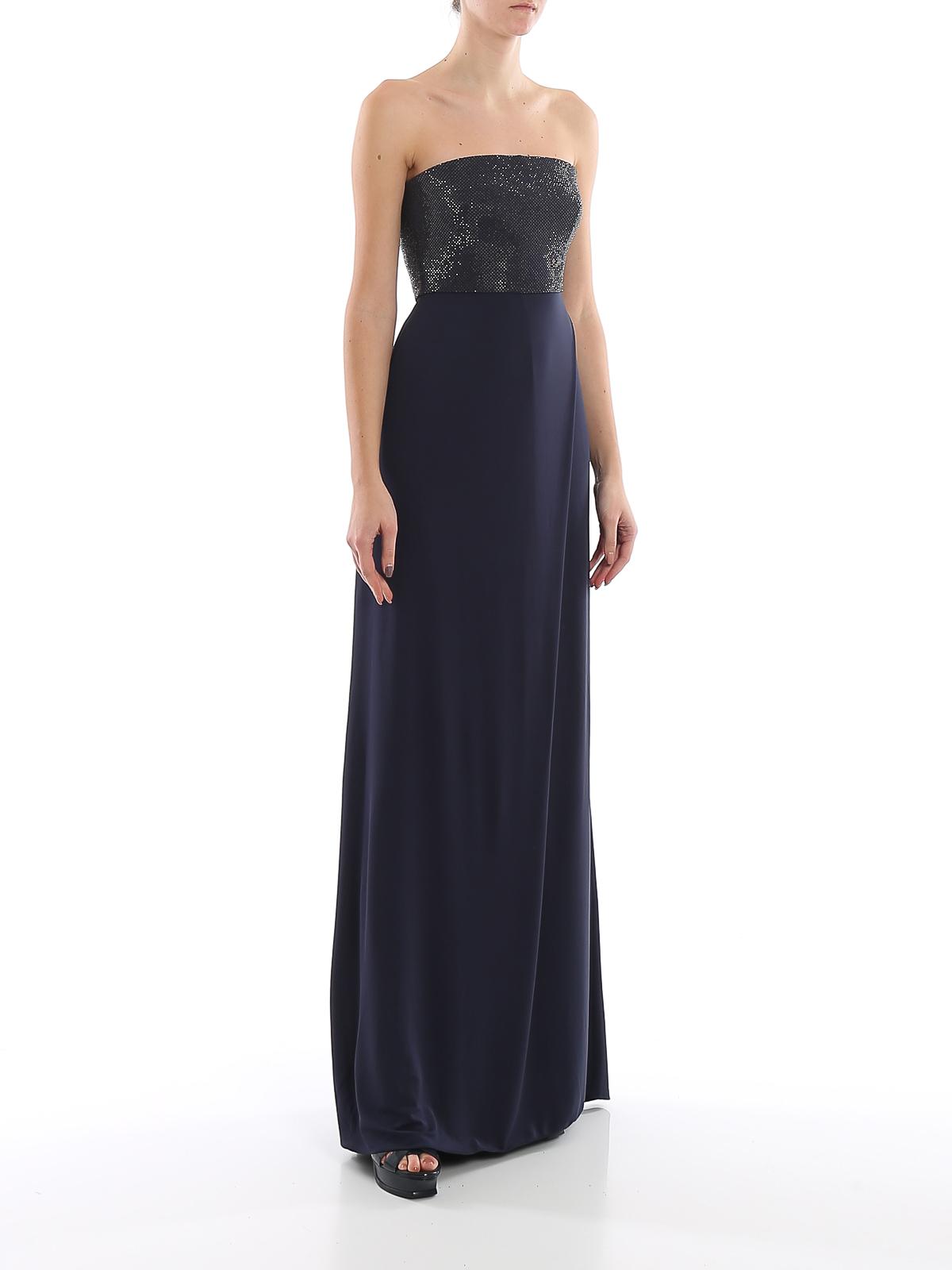 Emporio Armani - Abendkleid - Dunkelblau - Abendkleider
