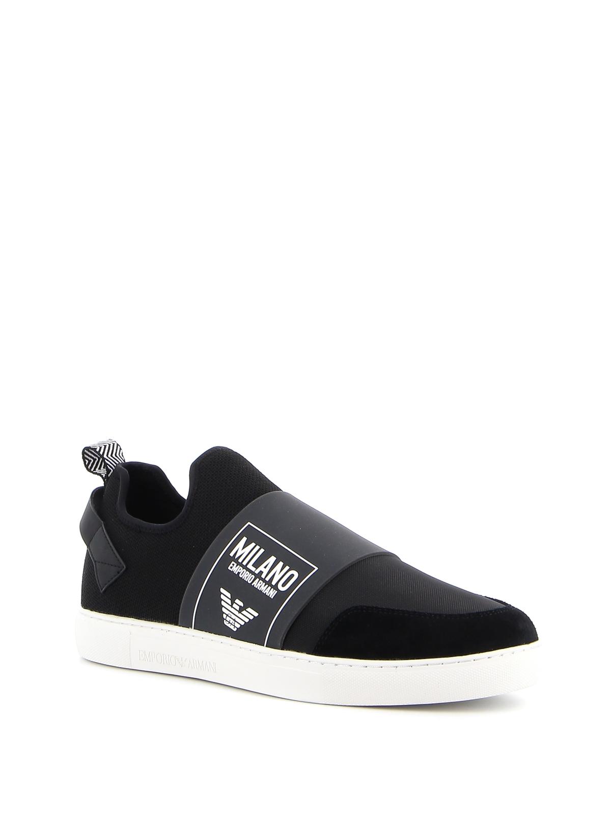 Emporio Armani - Slip-on sneakers