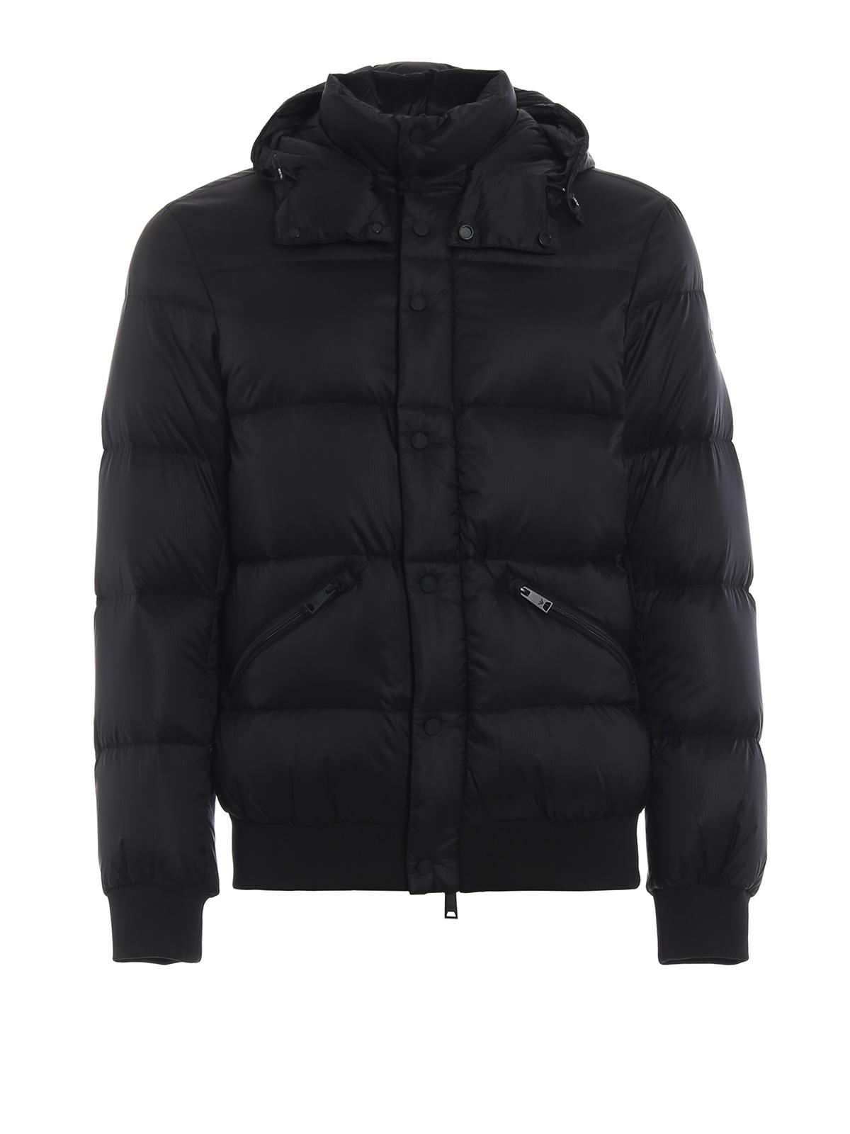 c6431cd72 Emporio Armani - Micro ripstop nylon puffer jacket - padded jackets ...